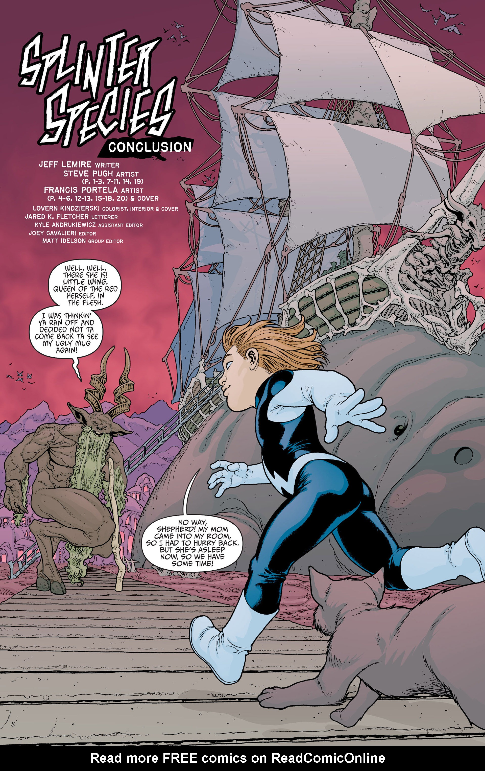 Read online Animal Man (2011) comic -  Issue #23 - 5