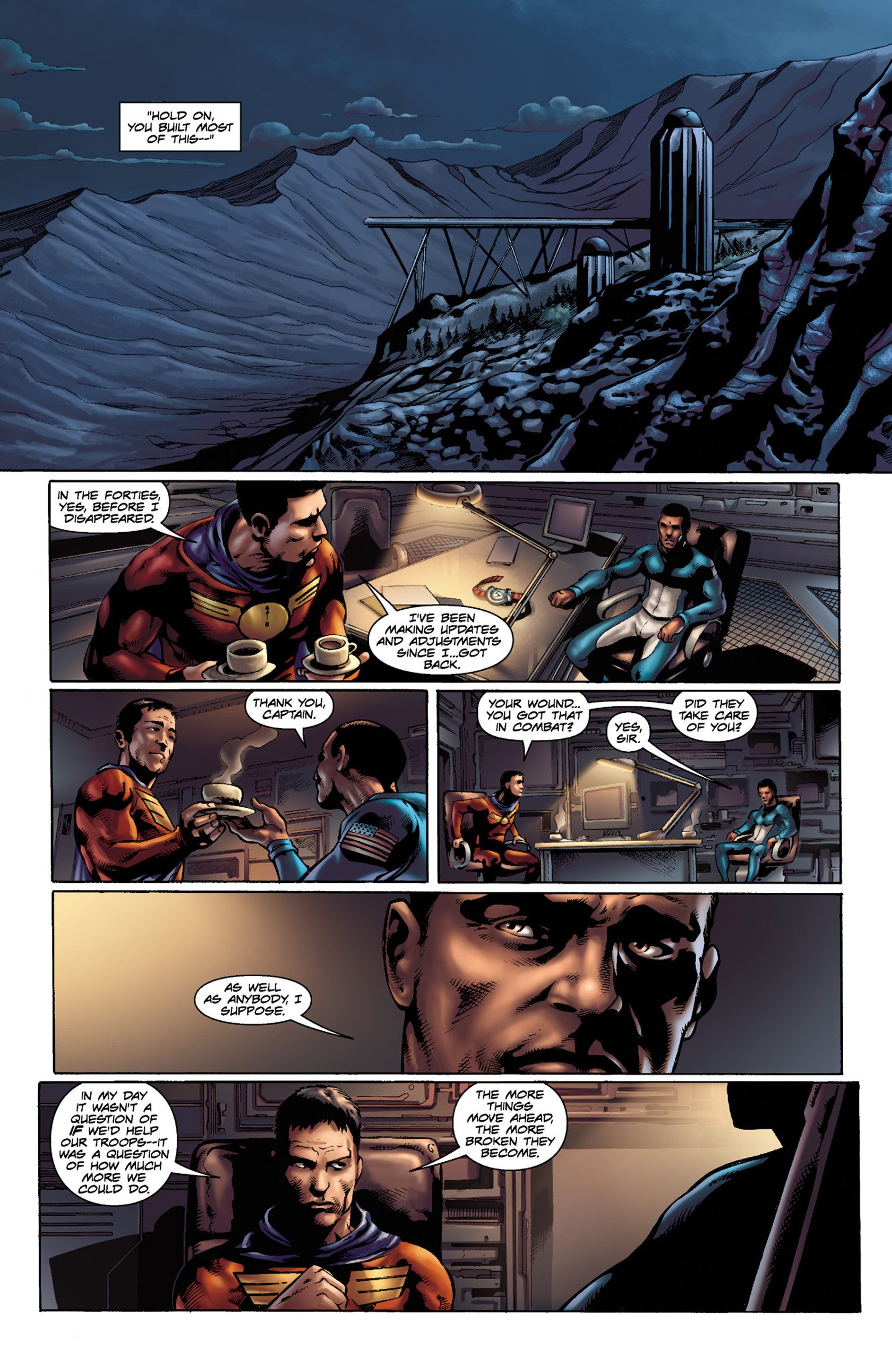 Read online Skyman comic -  Issue #3 - 6