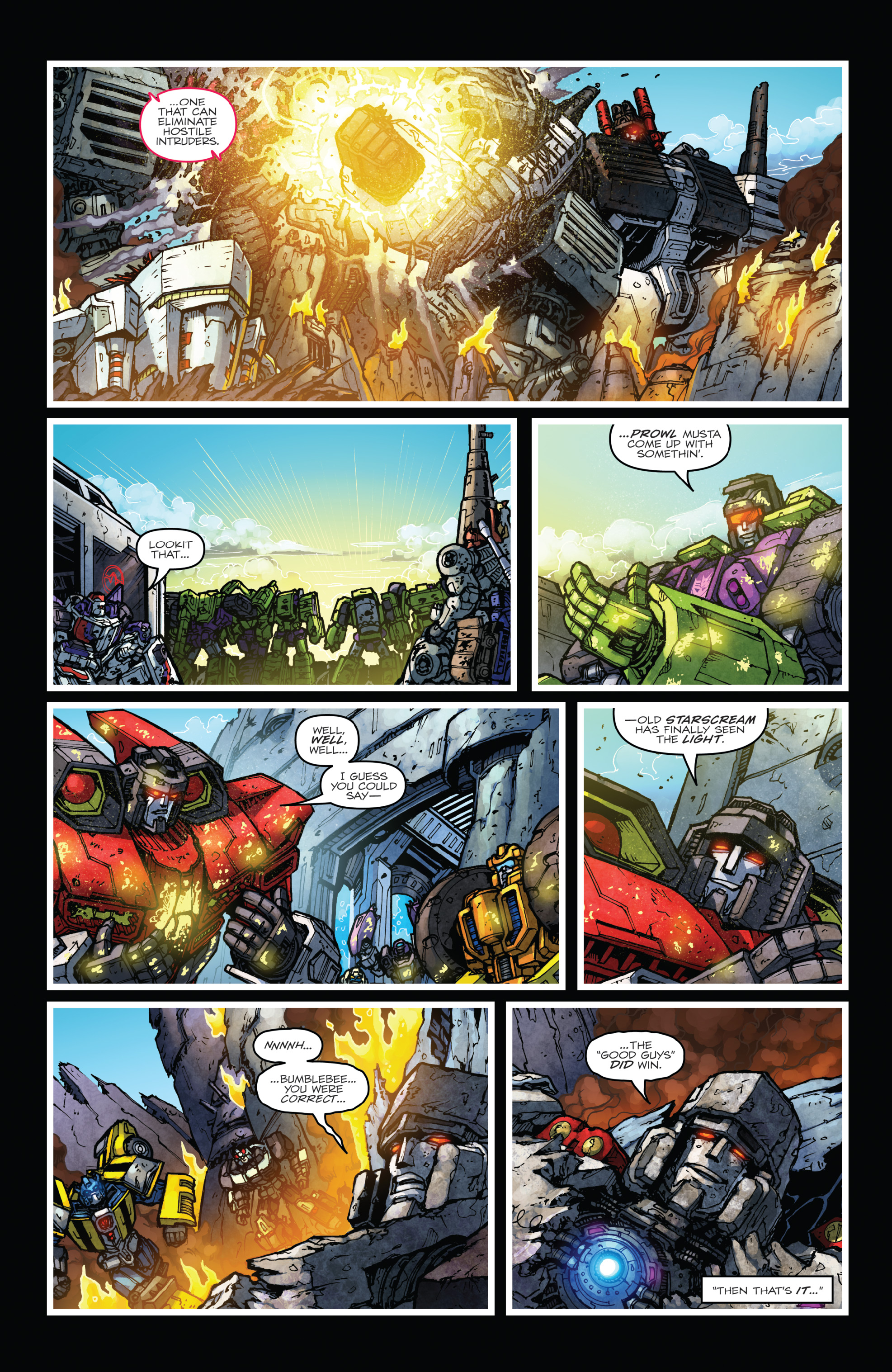 Read online The Transformers: Dark Cybertron Finale comic -  Issue # Full - 74