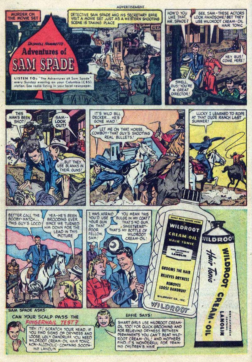 Read online Sensation (Mystery) Comics comic -  Issue #82 - 16