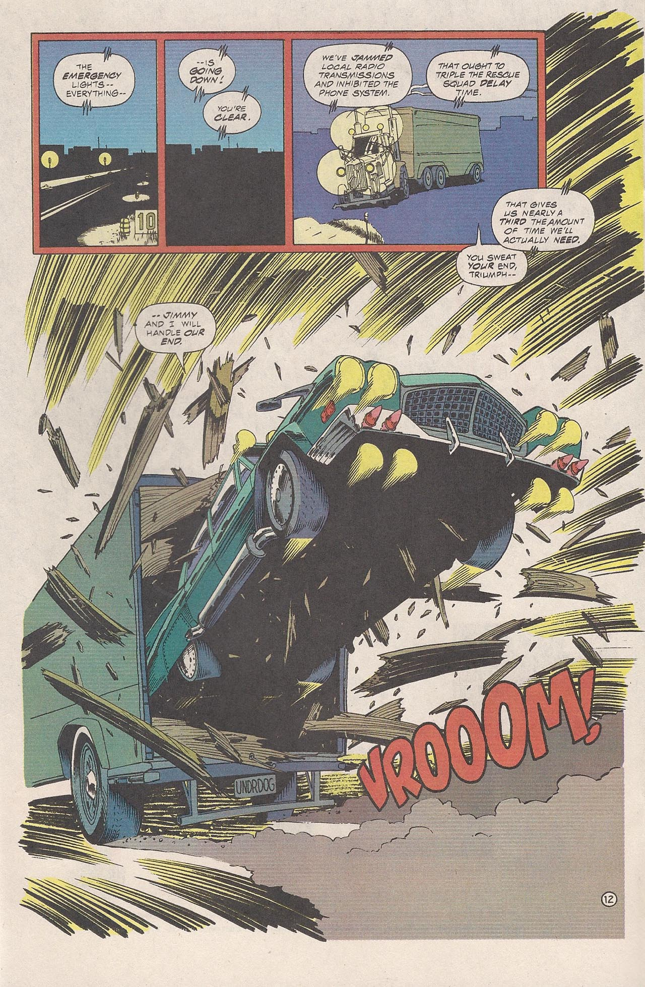 Read online Triumph comic -  Issue #4 - 20