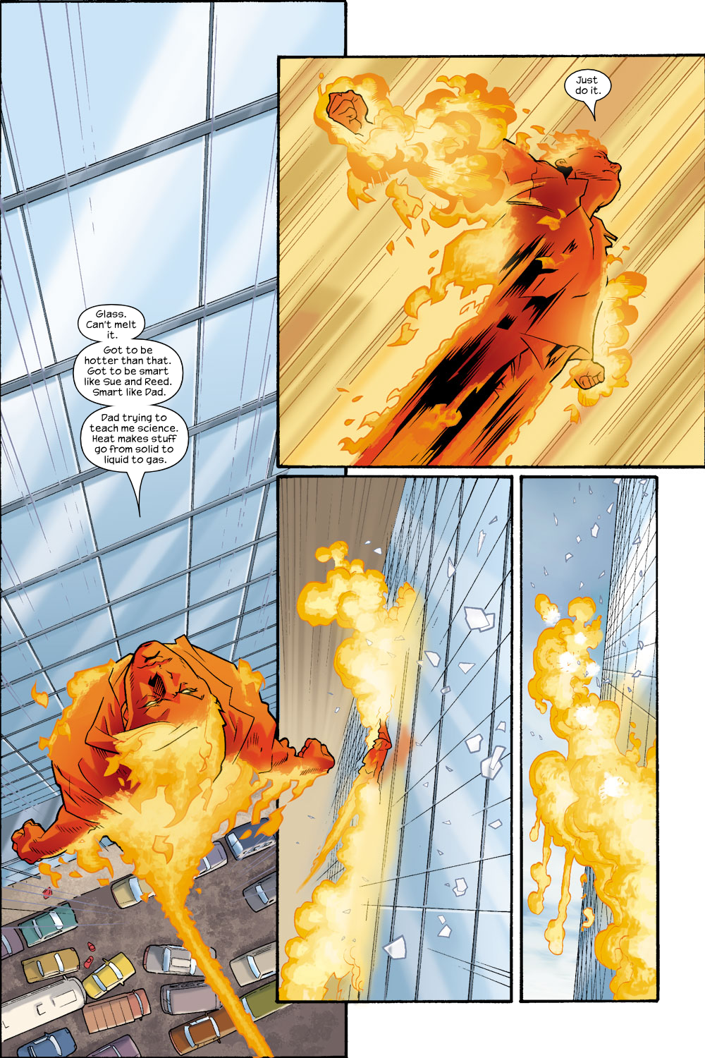 Read online Ultimate Fantastic Four (2004) comic -  Issue #8 - 21