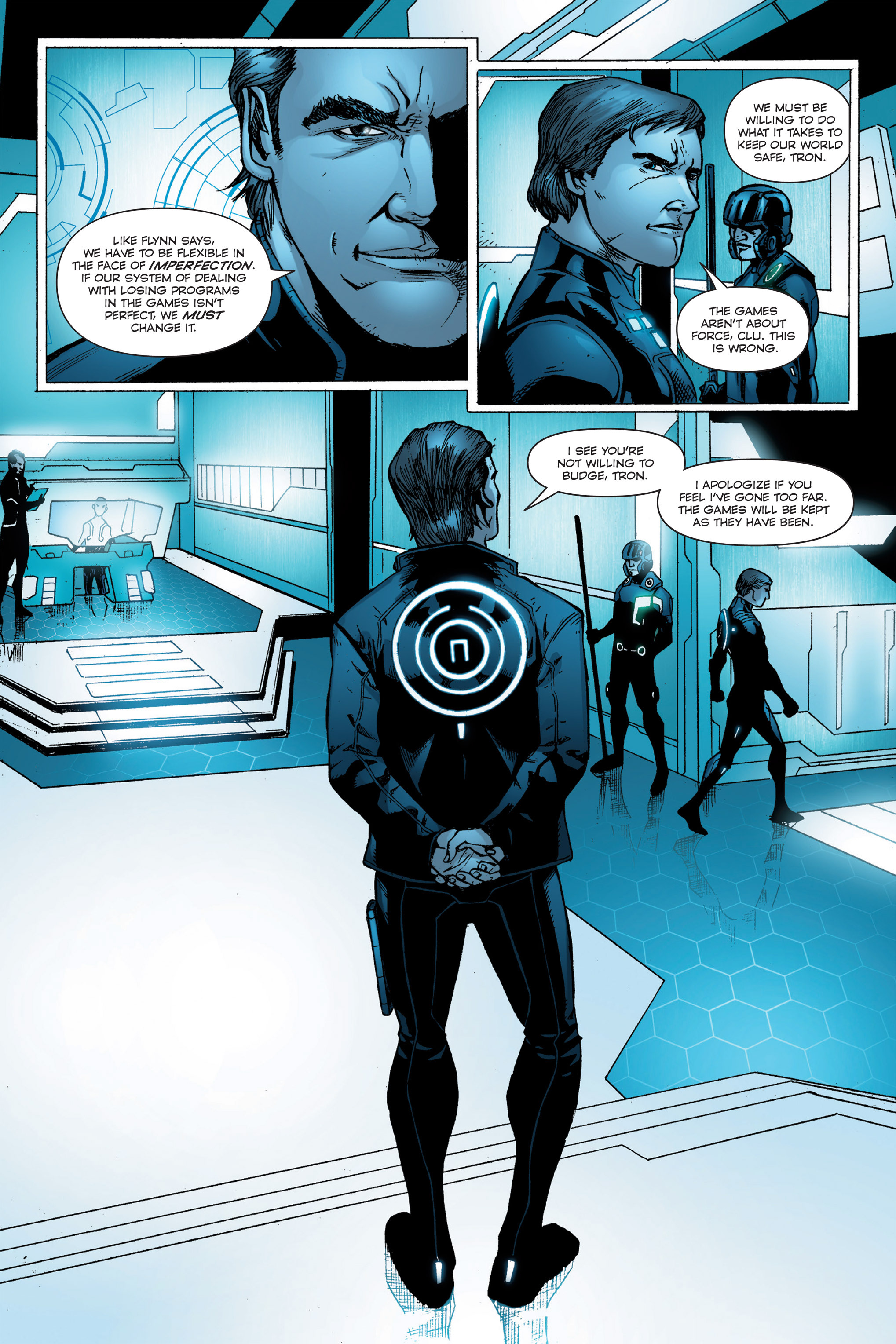 Read online TRON: Betrayal comic -  Issue # TPB - 85