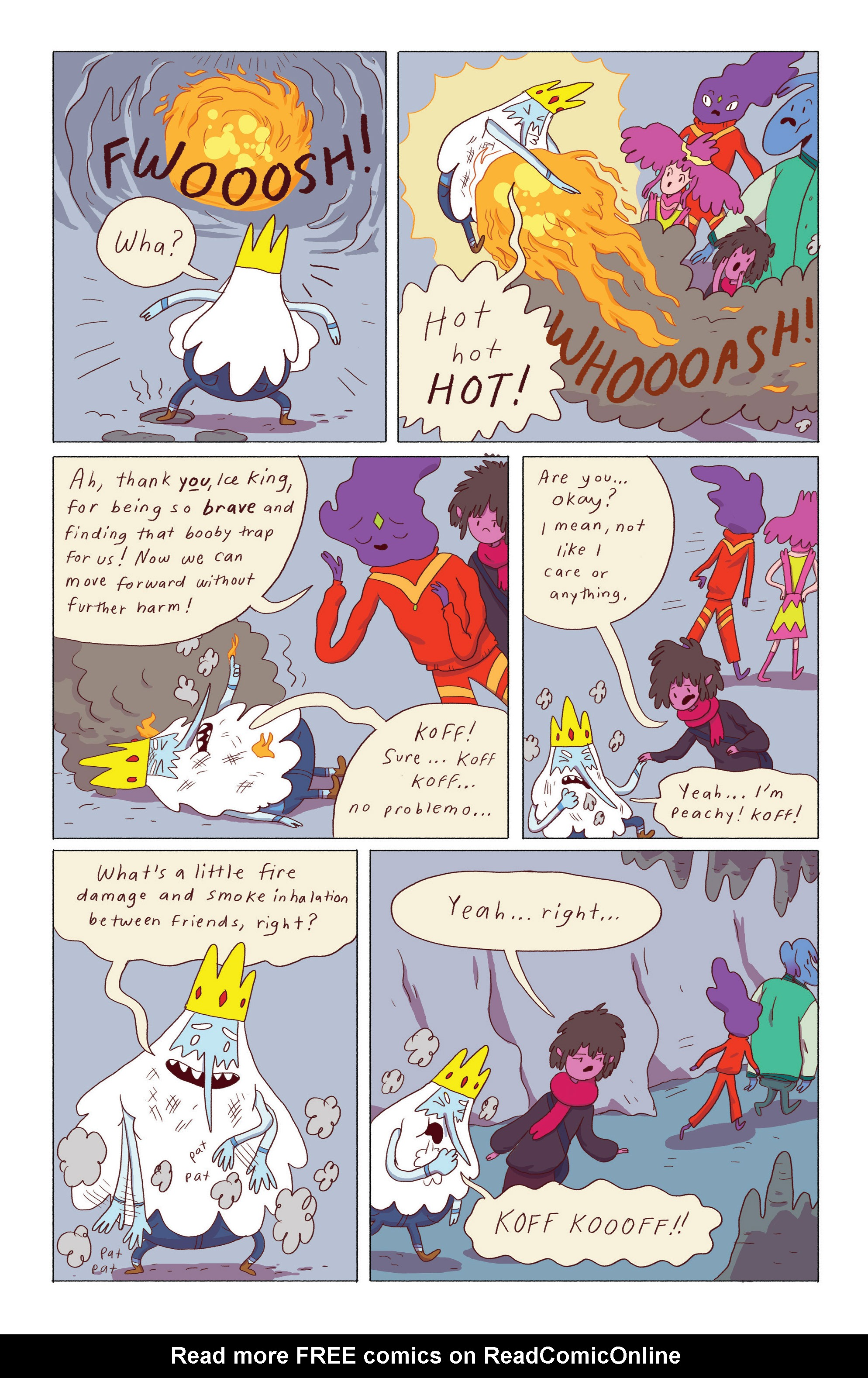 Read online Adventure Time: Ice King comic -  Issue #5 - 6