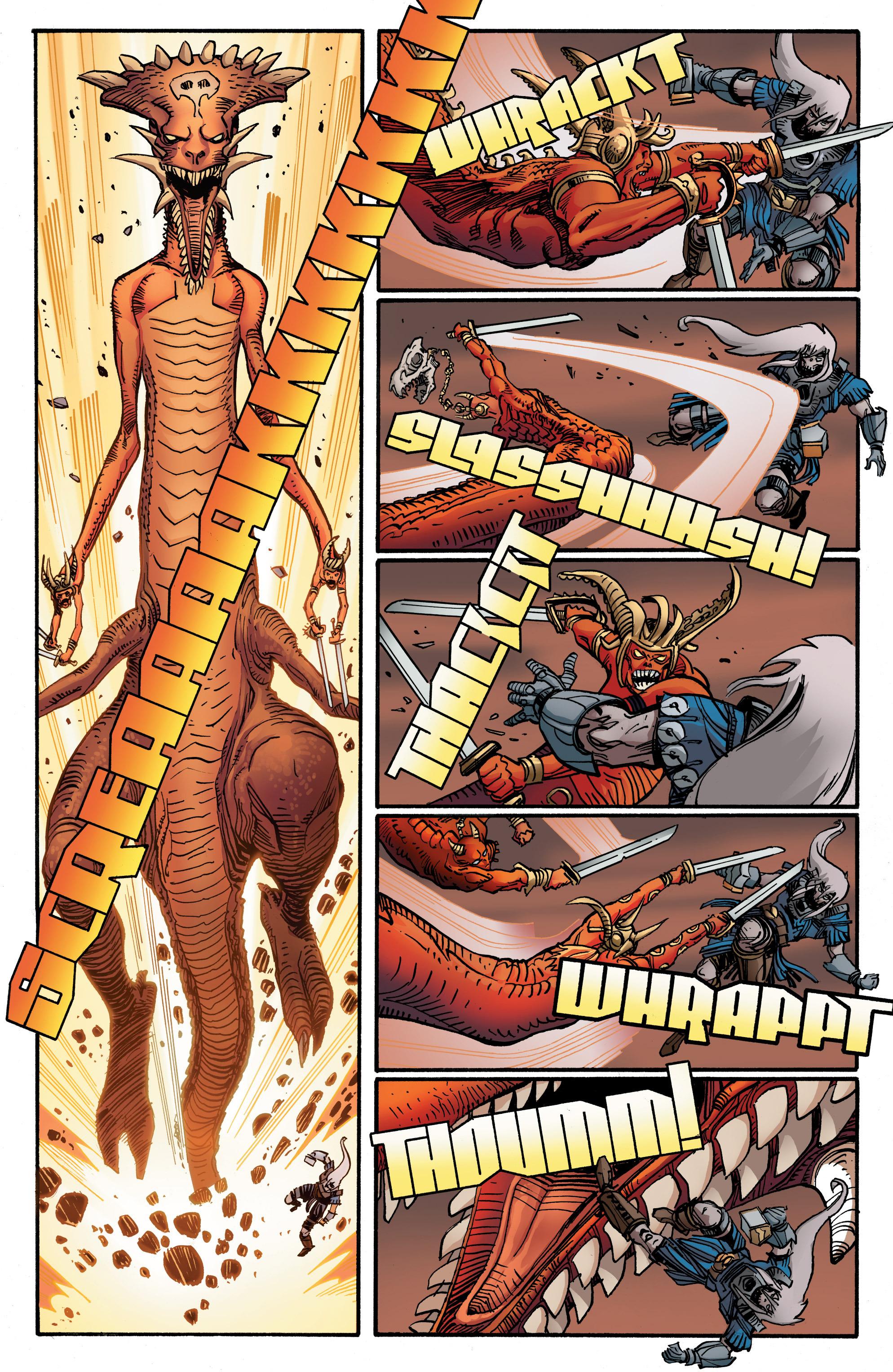 Read online Ragnarok comic -  Issue #12 - 16