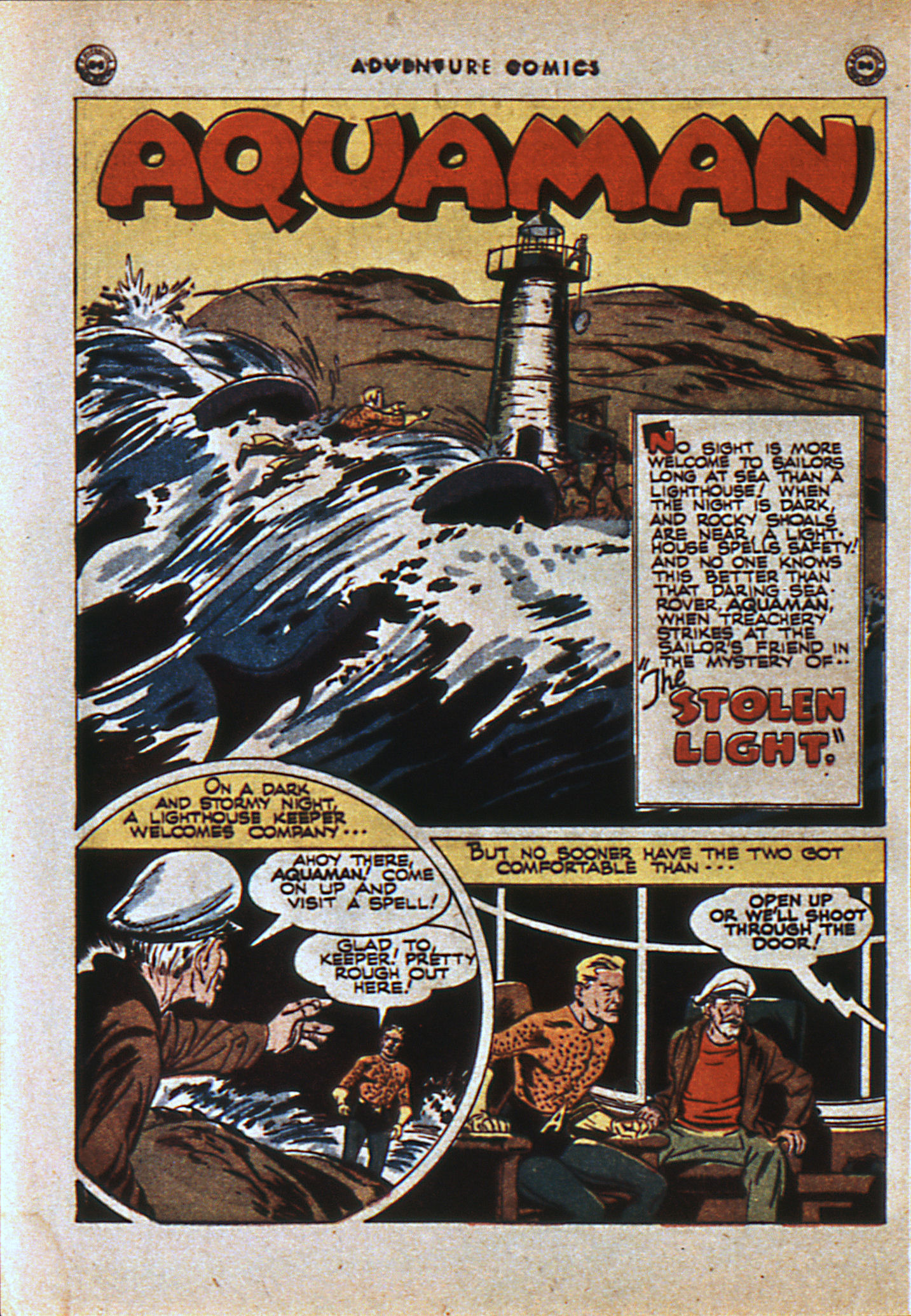Read online Adventure Comics (1938) comic -  Issue #108 - 11