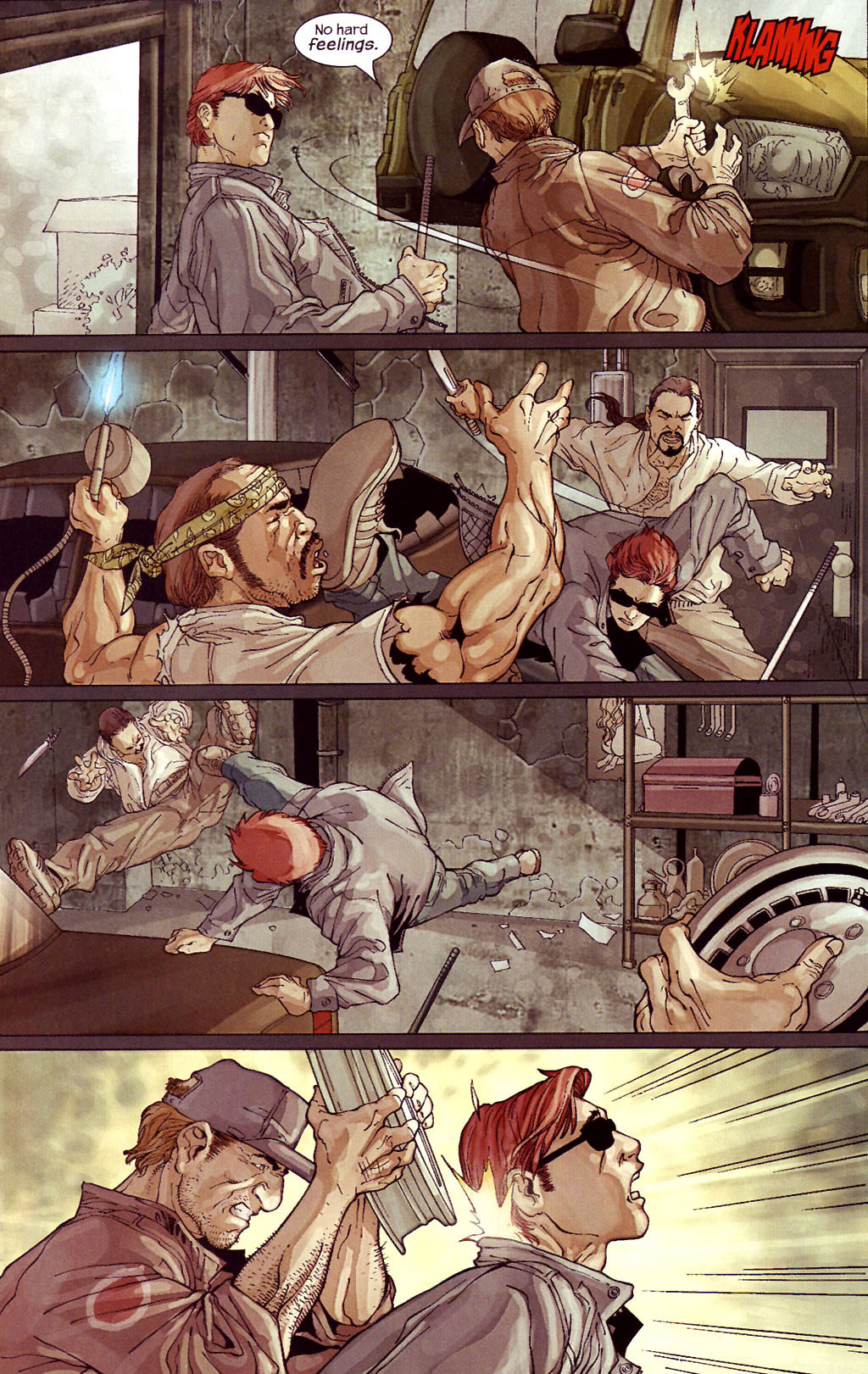 Read online Ultimate Elektra comic -  Issue #4 - 11