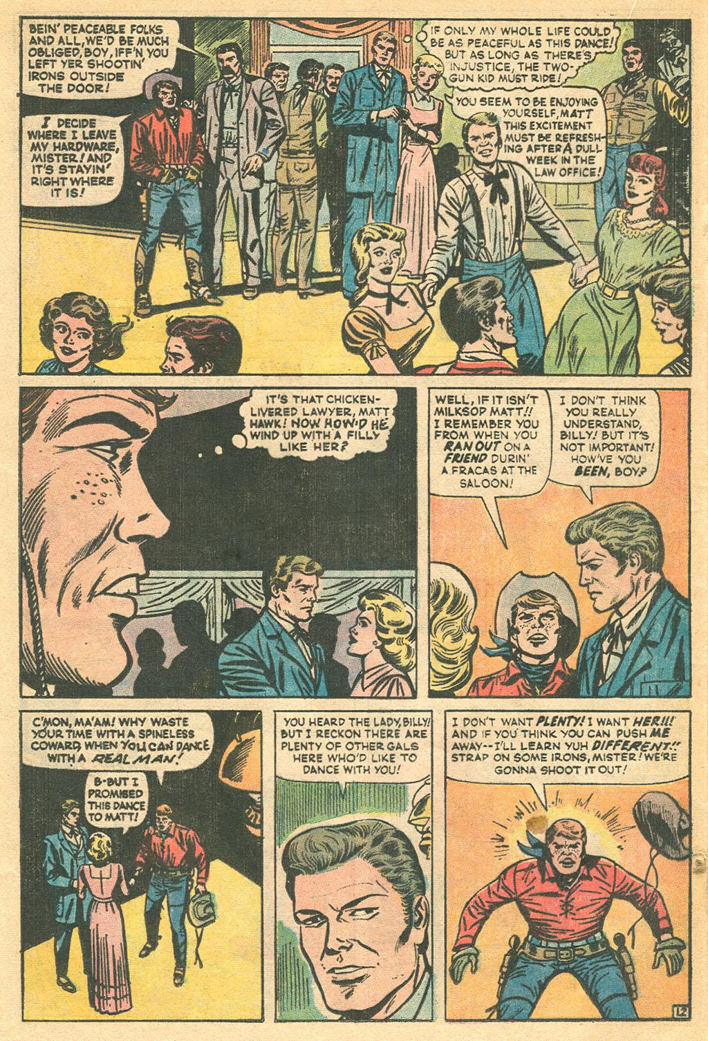 Read online Two-Gun Kid comic -  Issue #115 - 20