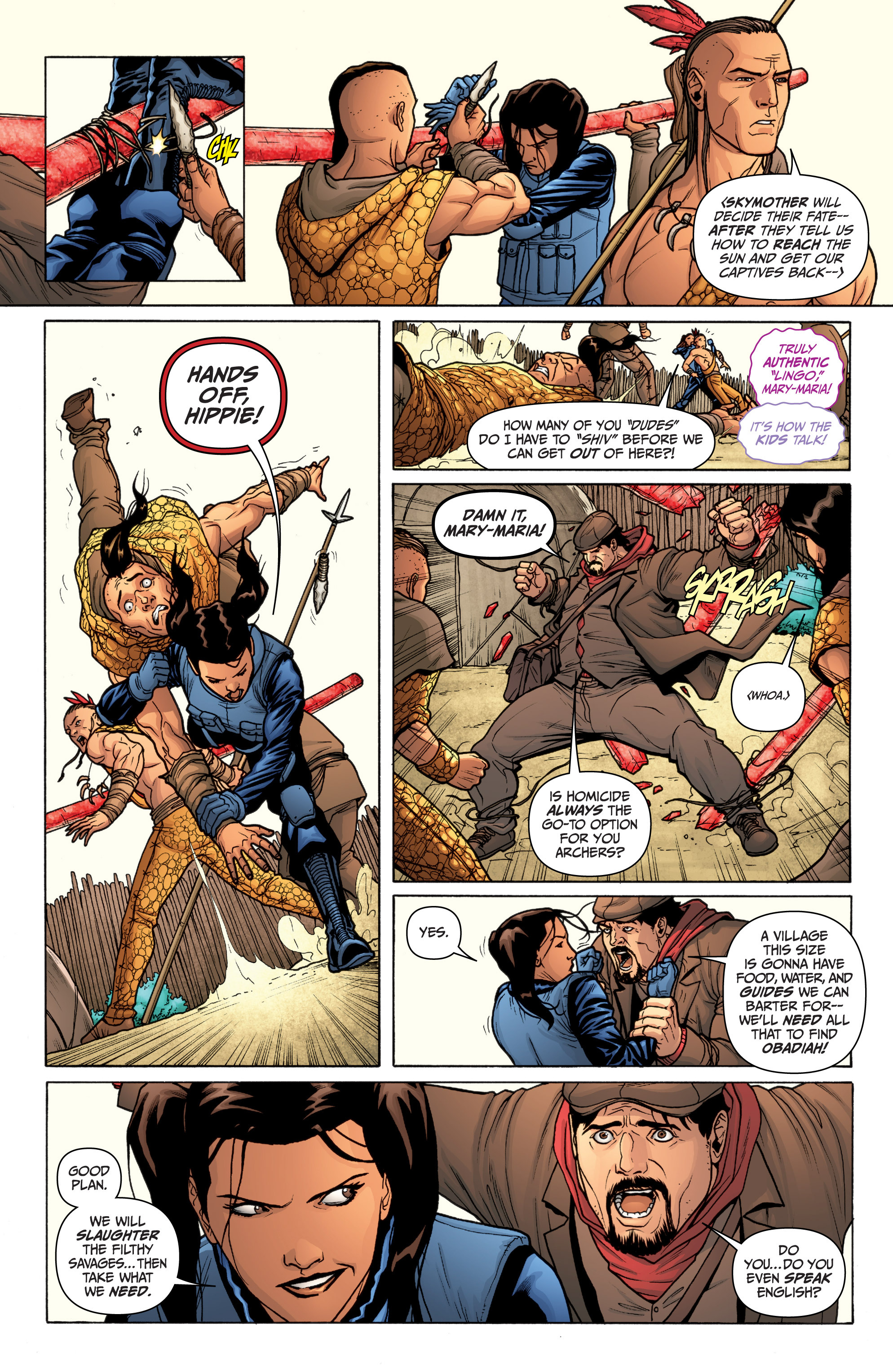 Read online Archer and Armstrong comic -  Issue #11 - 20