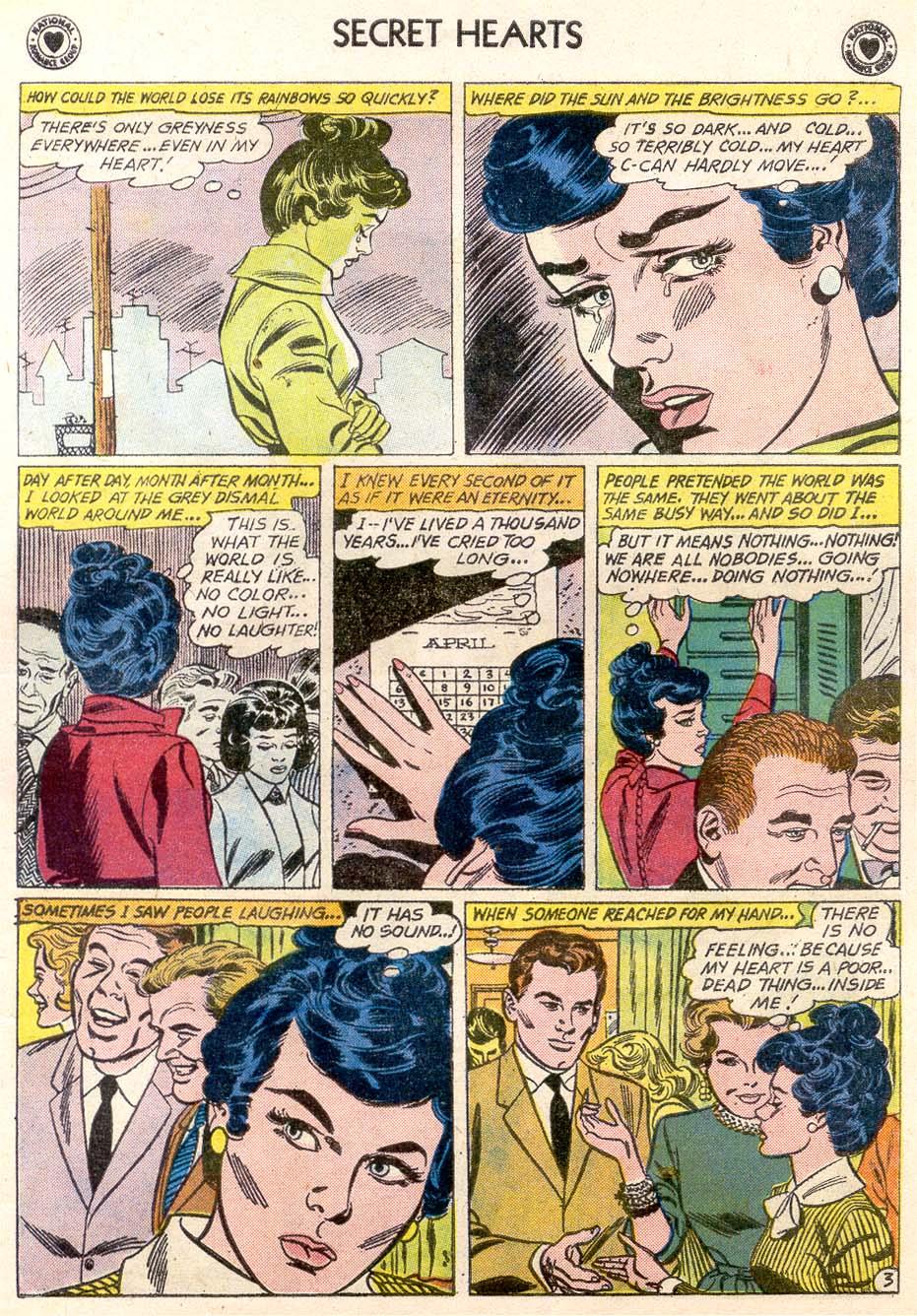 Read online Secret Hearts comic -  Issue #65 - 5