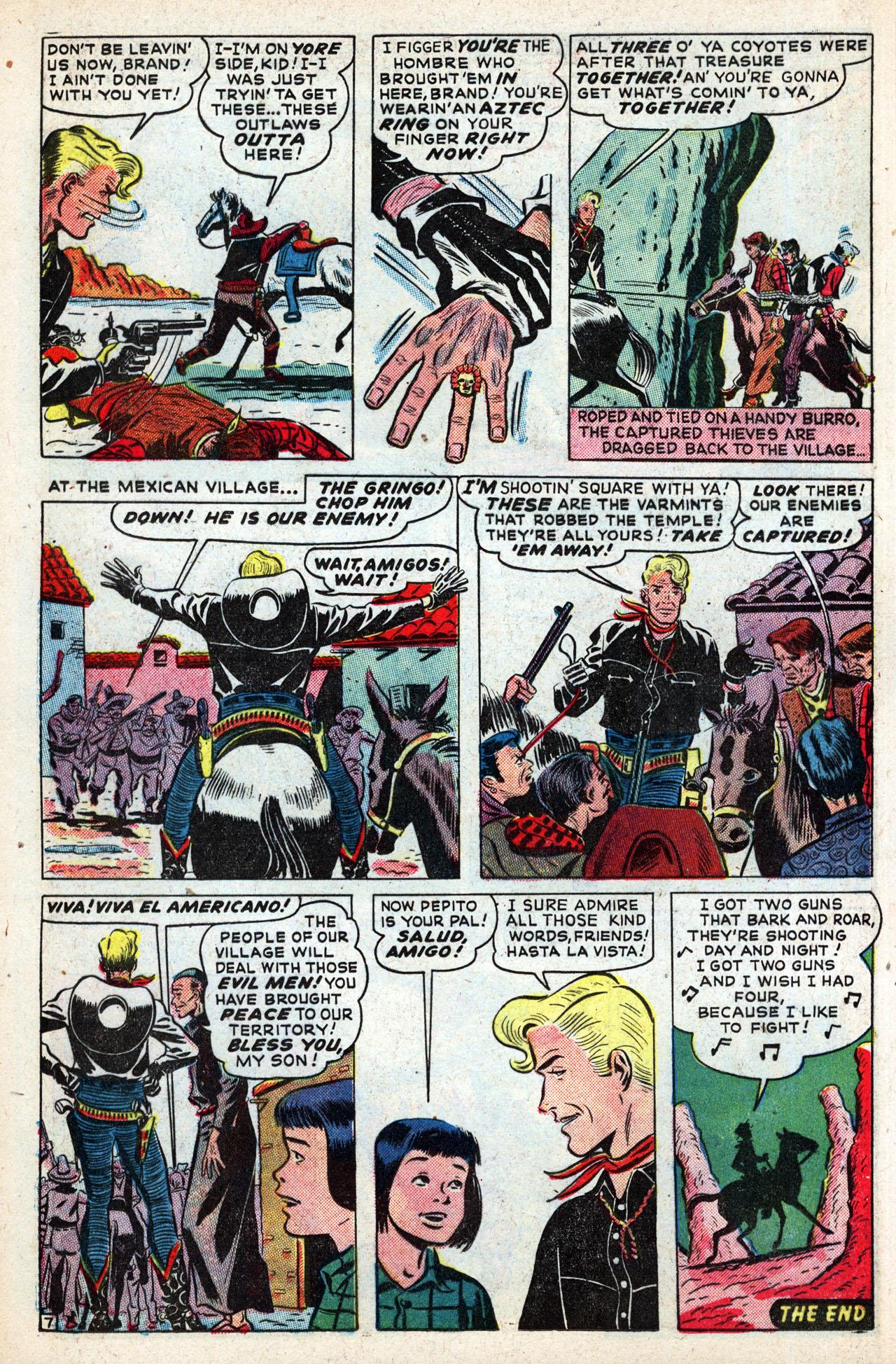 Read online Two-Gun Kid comic -  Issue #4 - 34