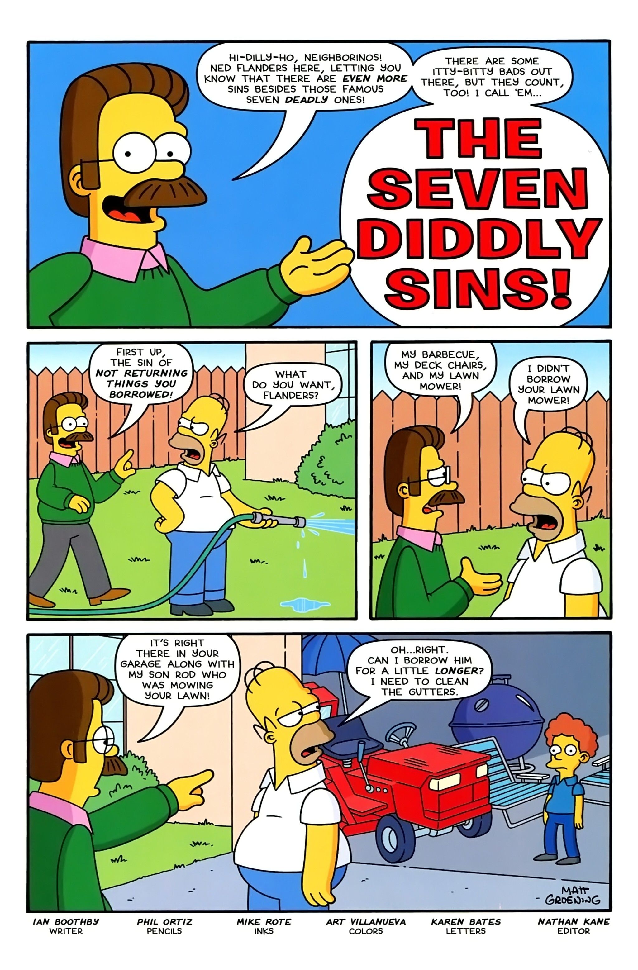 Read online Simpsons Comics comic -  Issue #234 - 19