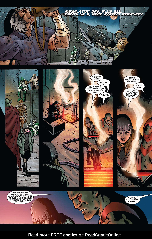 Read online Annihilation comic -  Issue #2 - 2