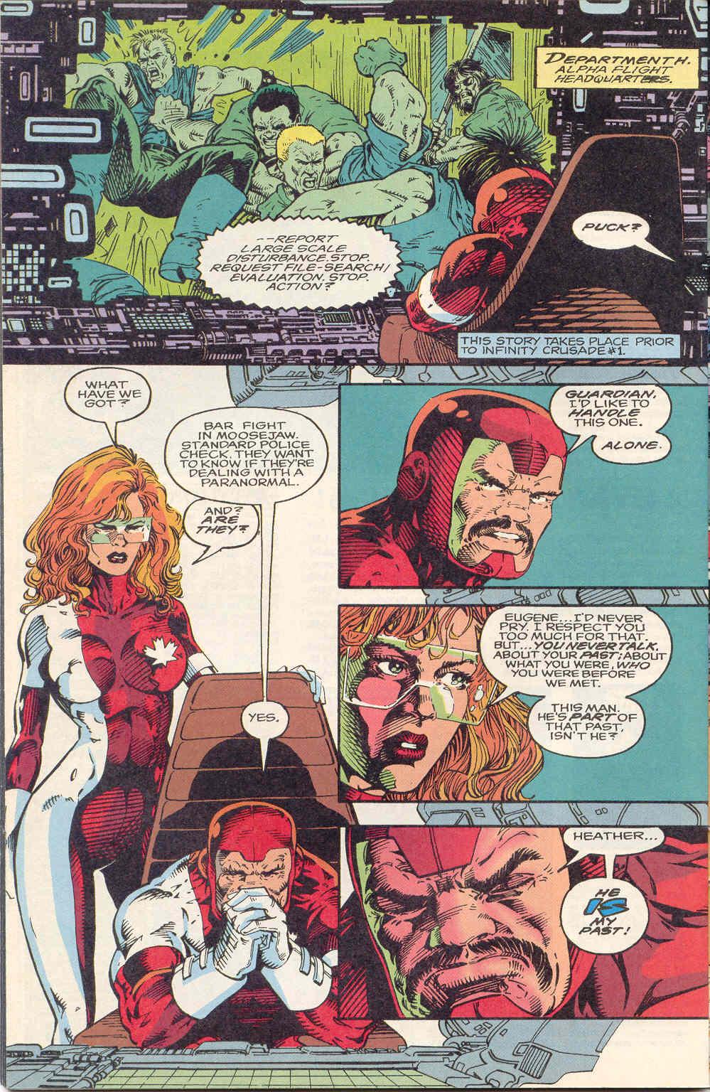 Read online Alpha Flight (1983) comic -  Issue #122 - 20
