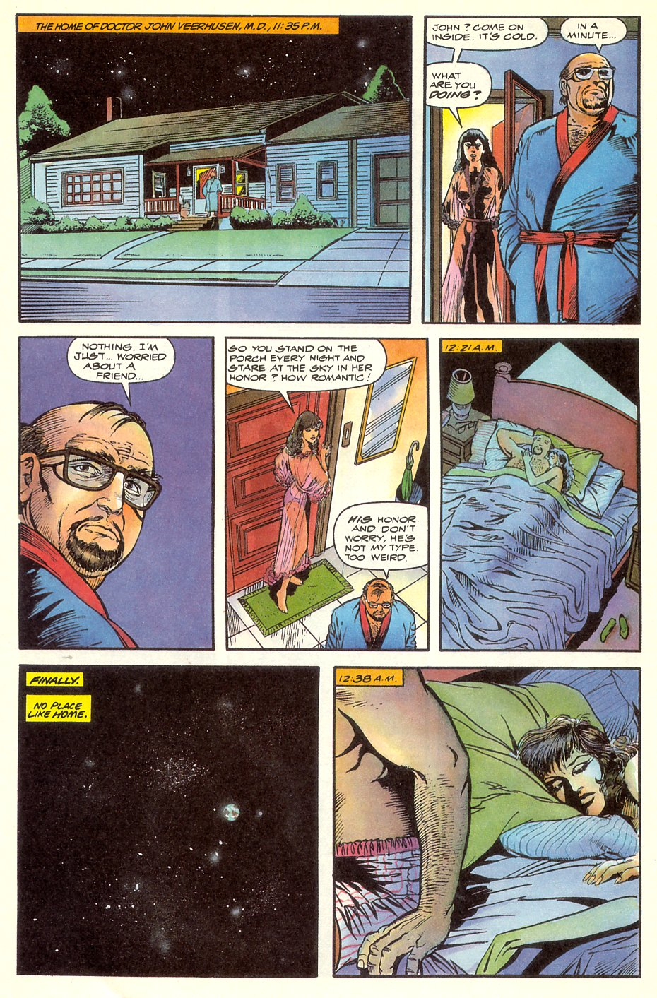 Read online Solar, Man of the Atom comic -  Issue #8 - 10