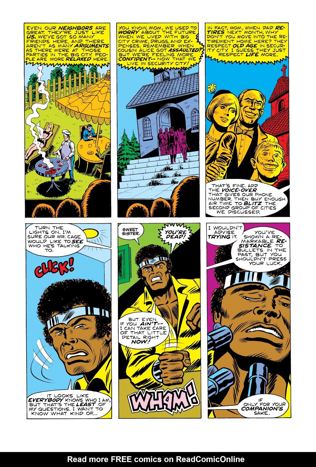 Read online Marvel Masterworks: Luke Cage, Power Man comic -  Issue # TPB 2 (Part 2) - 37
