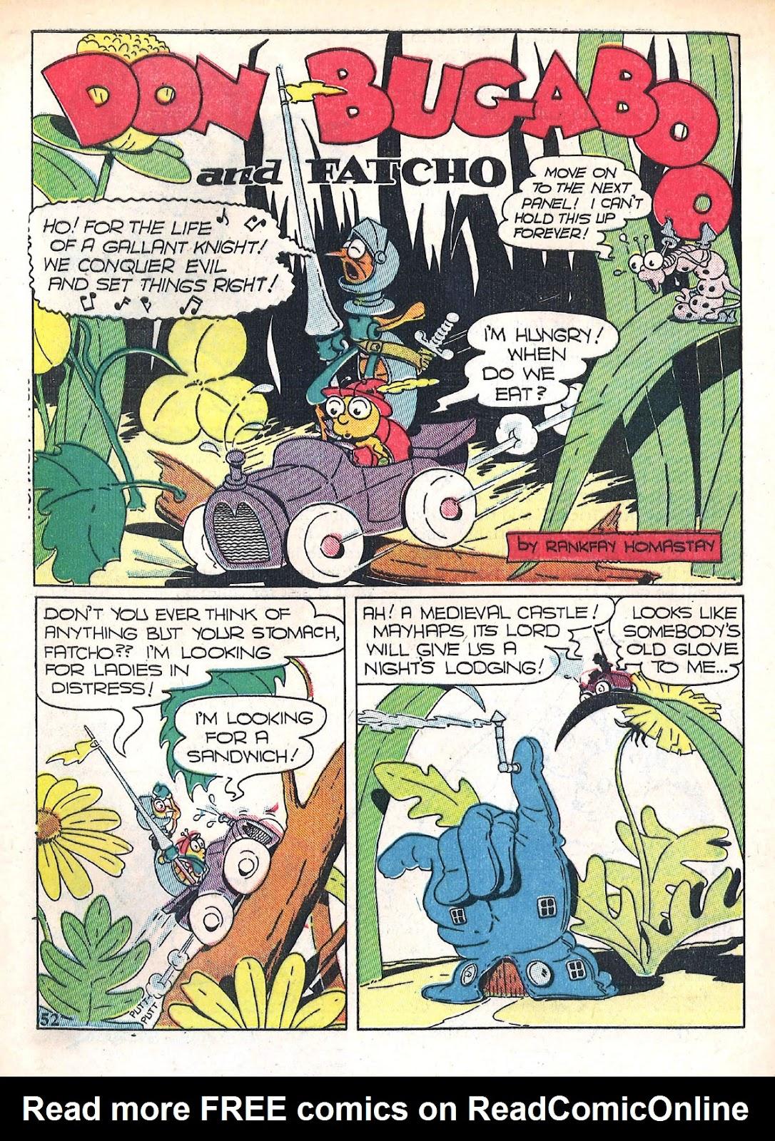 Read online Animal Comics comic -  Issue #4 - 55