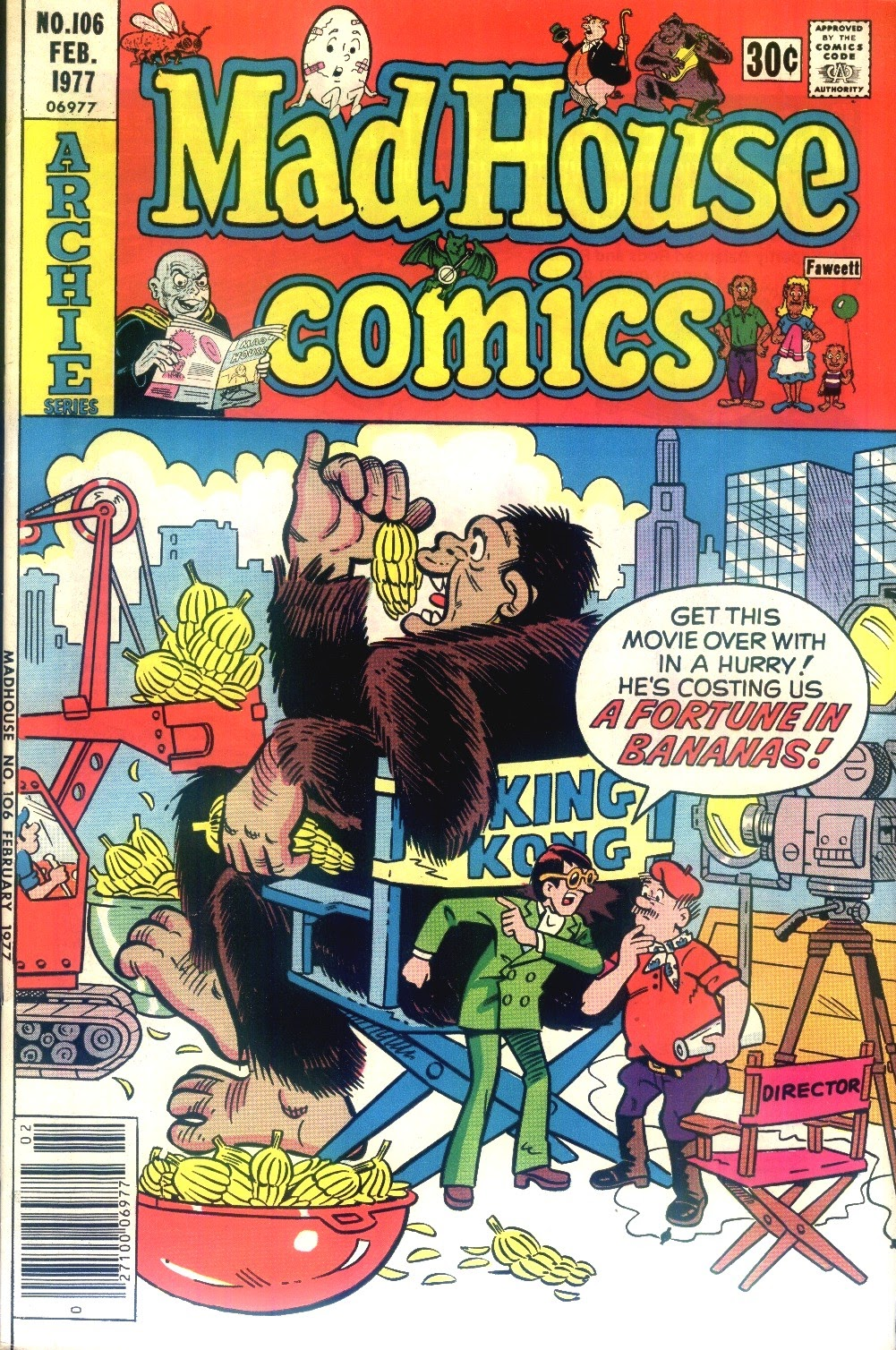 Read online Madhouse Comics comic -  Issue #106 - 1