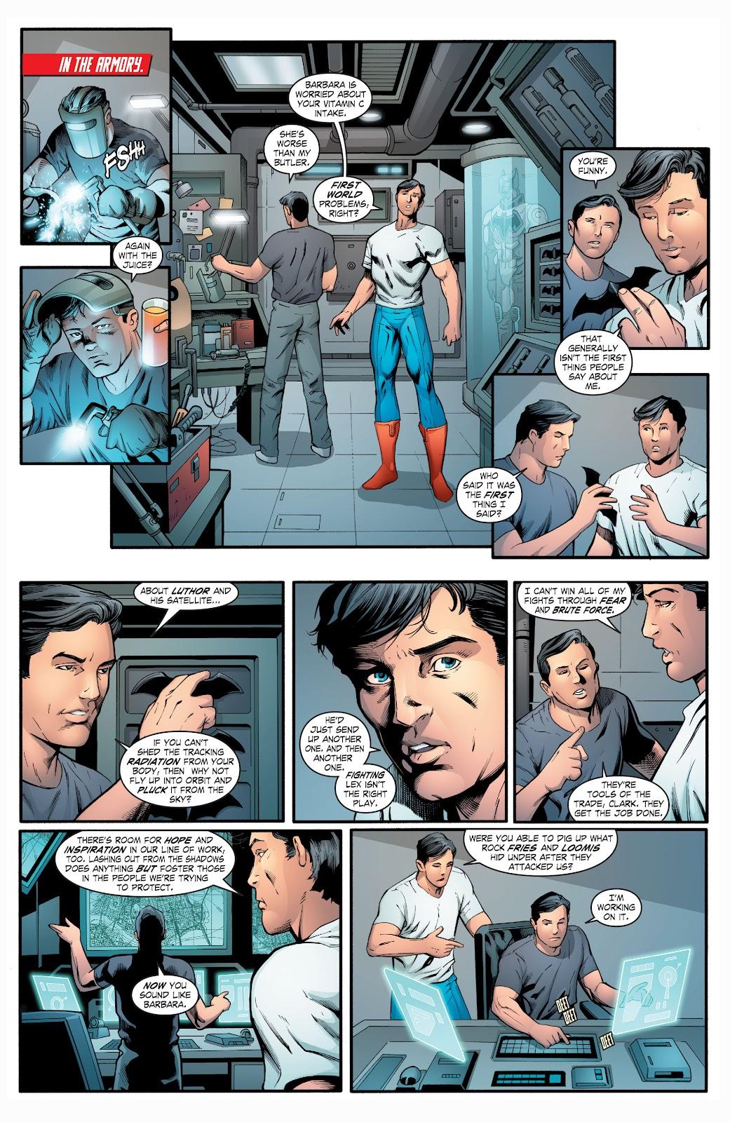 Read online Smallville Season 11 [II] comic -  Issue # TPB 2 - 107