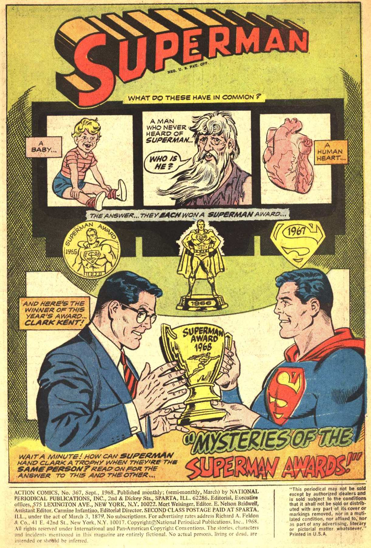 Read online Action Comics (1938) comic -  Issue #367 - 3