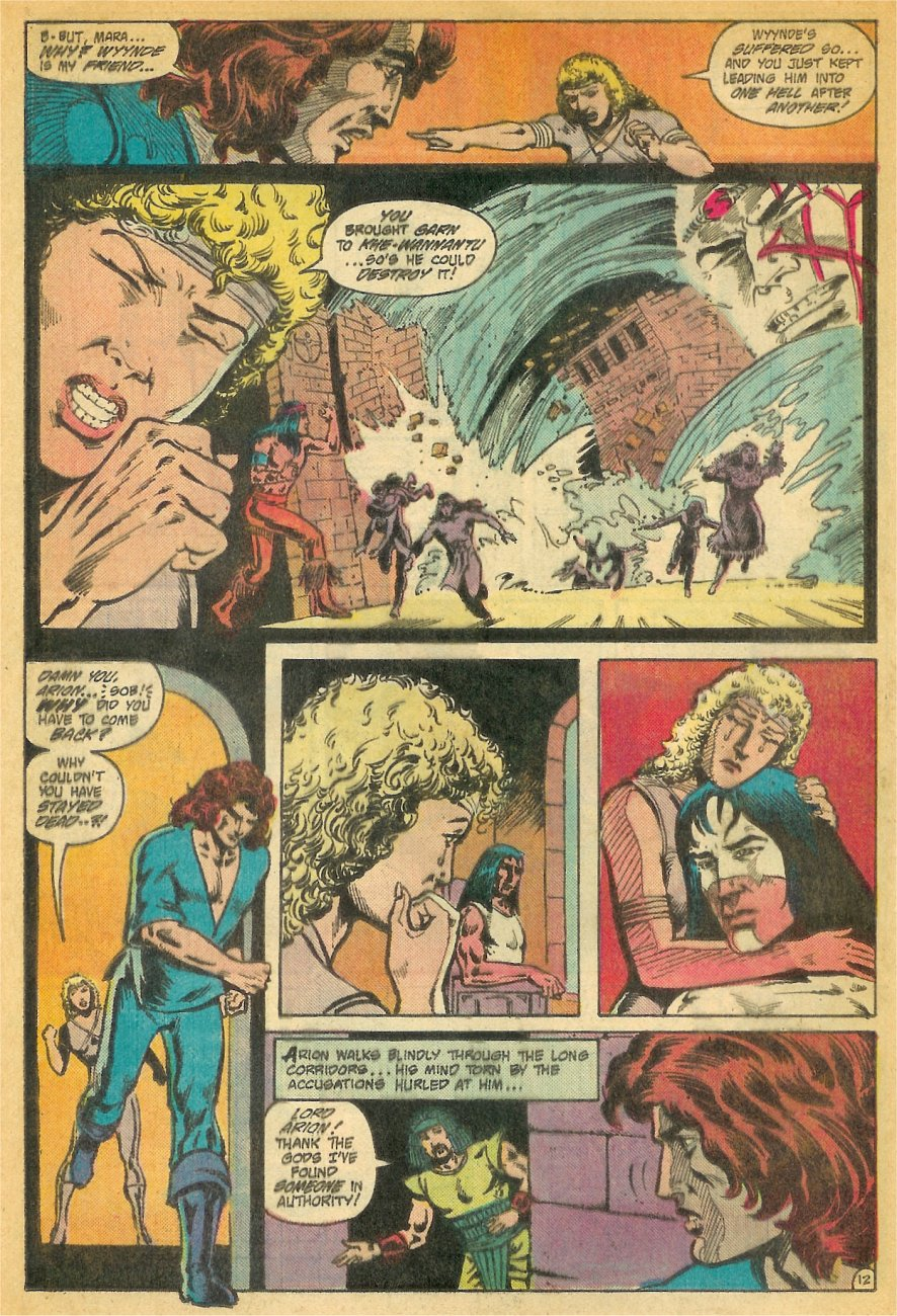 Read online Arion, Lord of Atlantis comic -  Issue #26 - 13