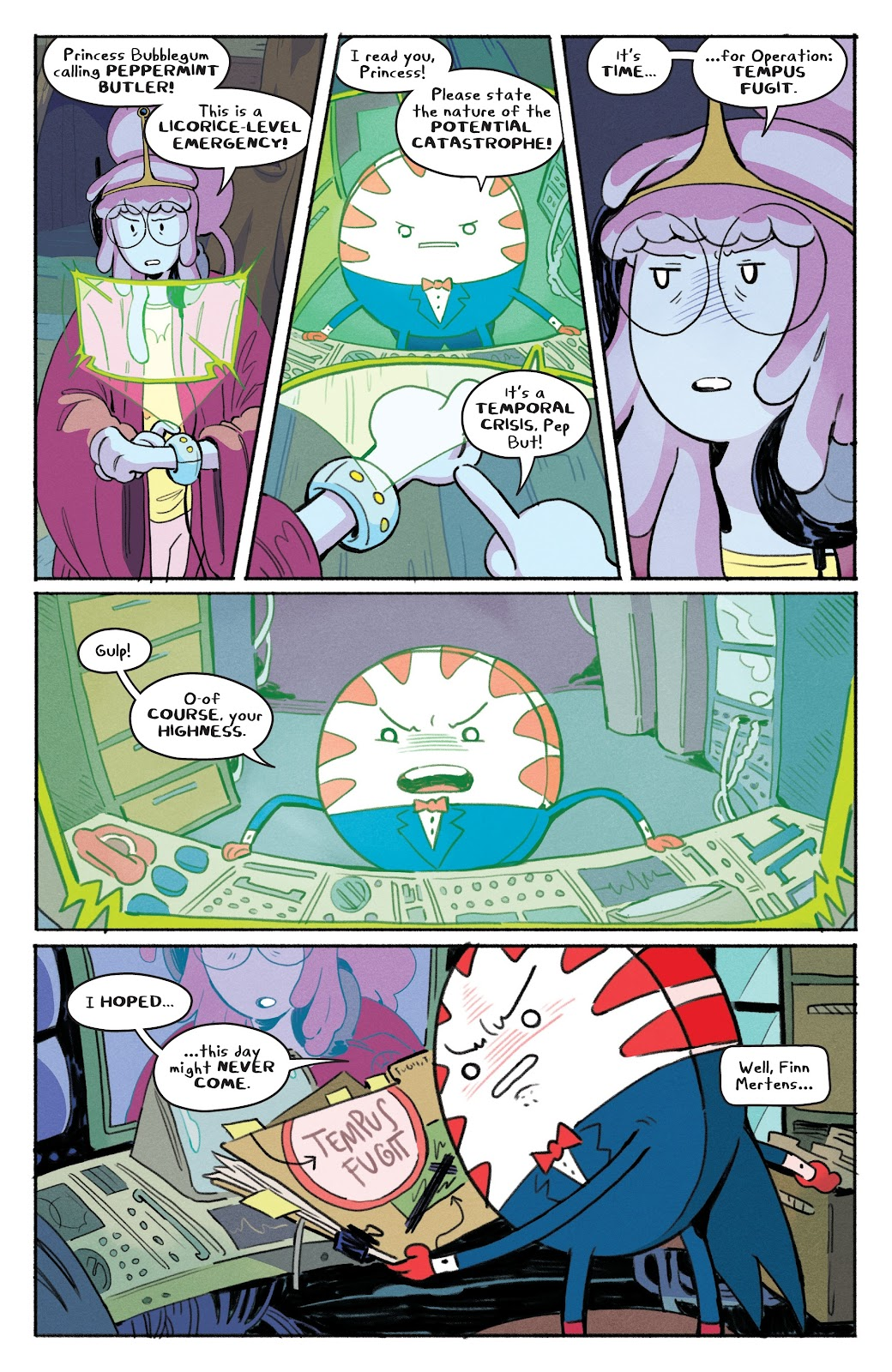 Read online Adventure Time: Beginning of the End comic -  Issue # _TPB - 31