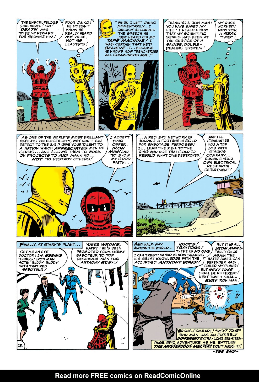 Read online Marvel Masterworks: The Invincible Iron Man comic -  Issue # TPB 1 (Part 2) - 19