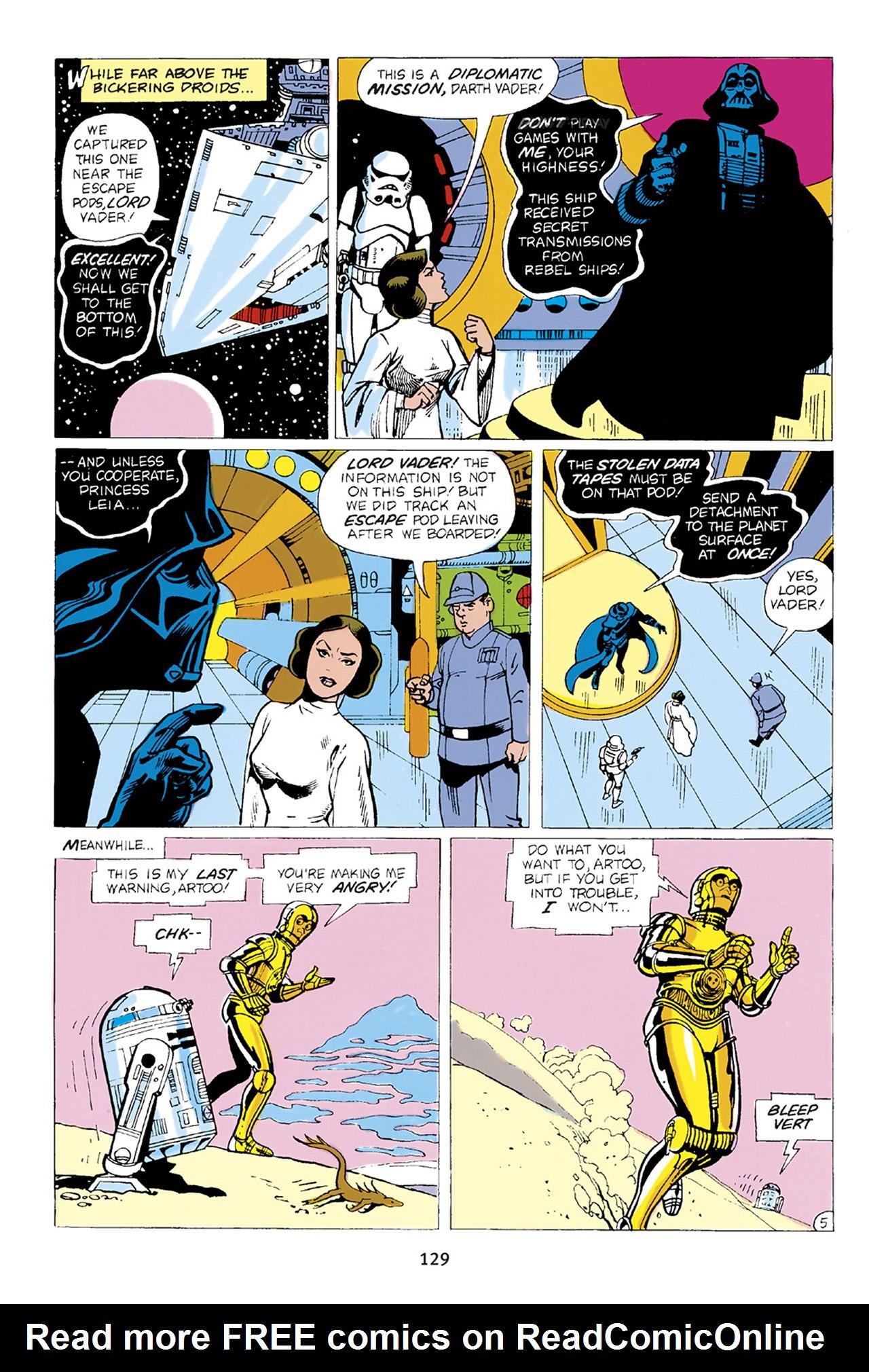 Read online Star Wars Omnibus comic -  Issue # Vol. 23 - 128