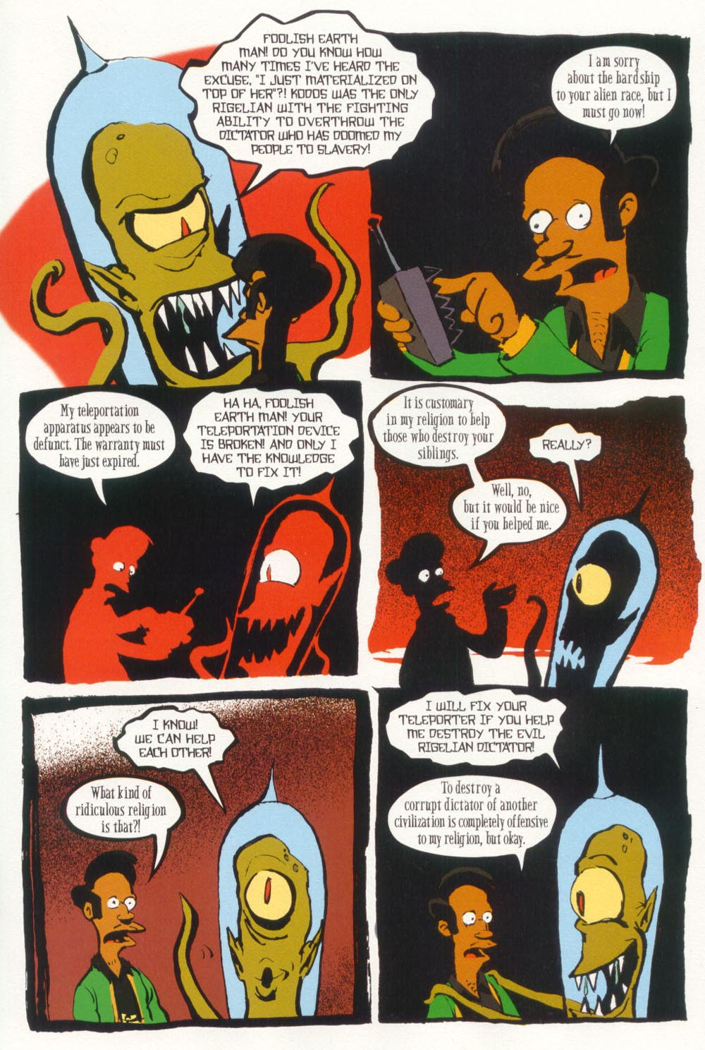 Read online Treehouse of Horror comic -  Issue #5 - 35