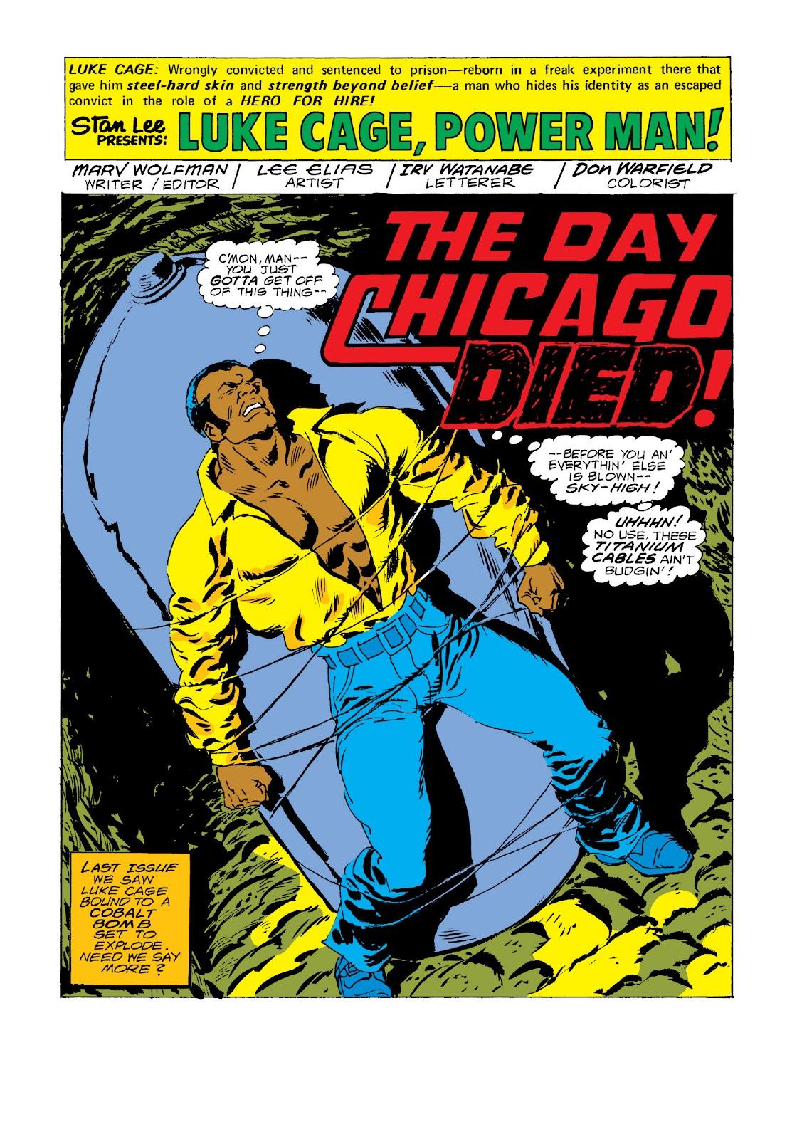 Read online Marvel Masterworks: Luke Cage, Power Man comic -  Issue # TPB 3 (Part 3) - 64