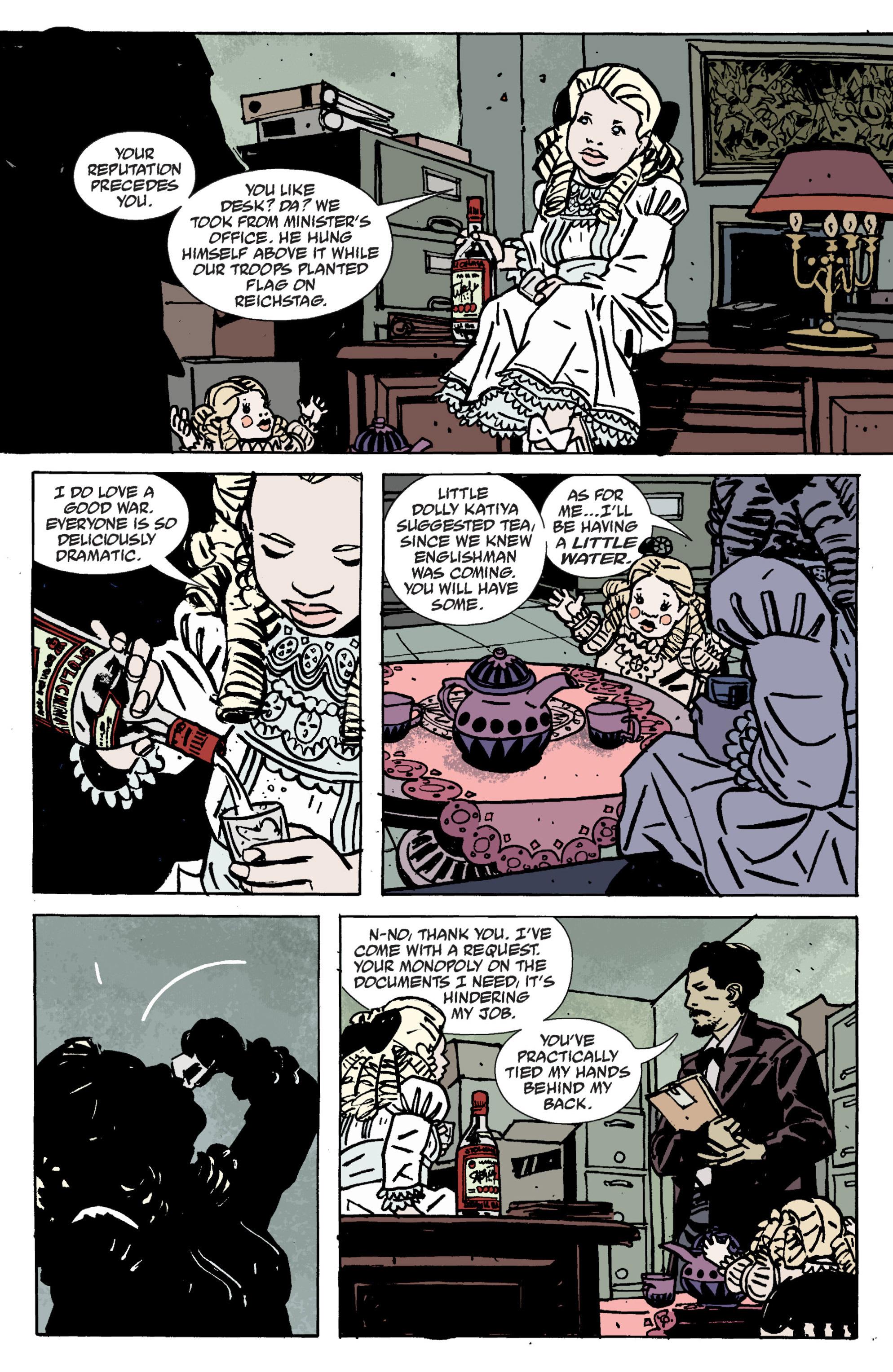Read online B.P.R.D. (2003) comic -  Issue # TPB 9 - 23