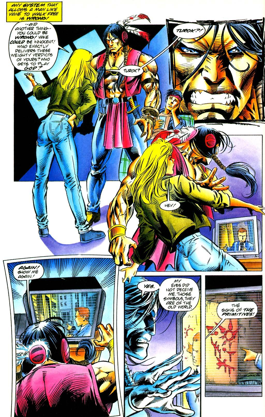 Read online Turok, Dinosaur Hunter (1993) comic -  Issue #29 - 5