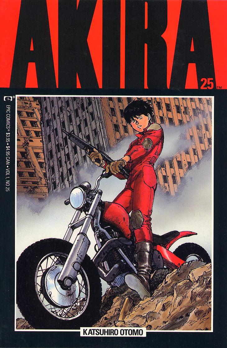 Read online Akira comic -  Issue #25 - 1