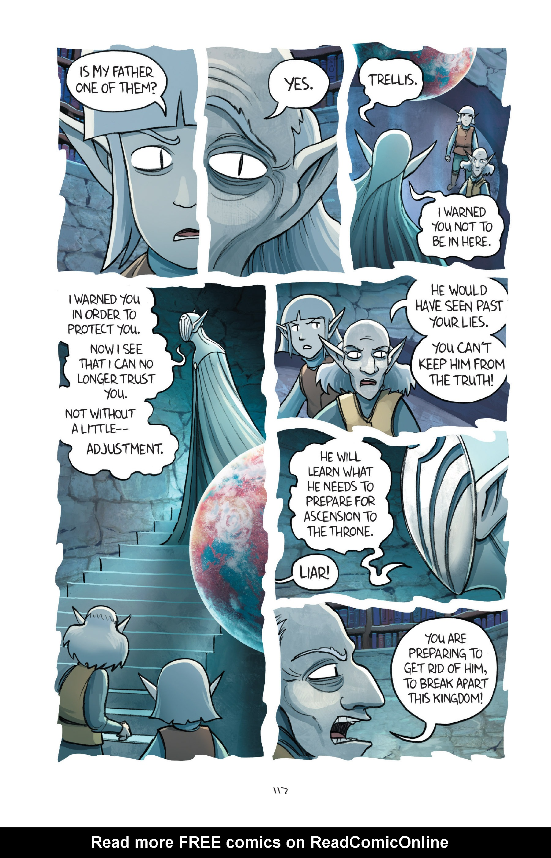 Read online Amulet comic -  Issue #7 - 117