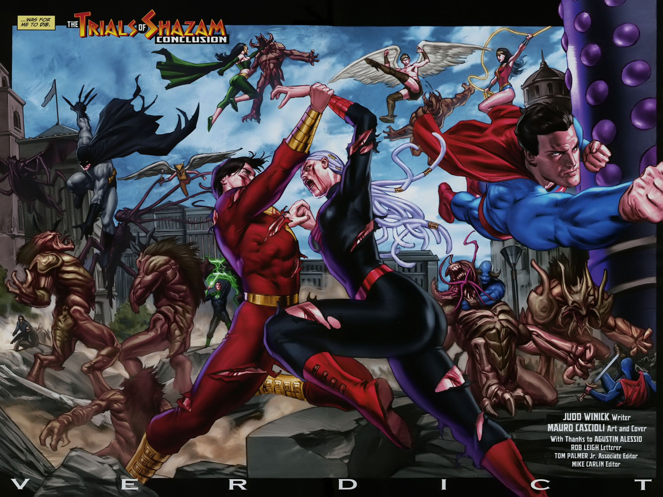 Read online Trials of Shazam comic -  Issue #12 - 3