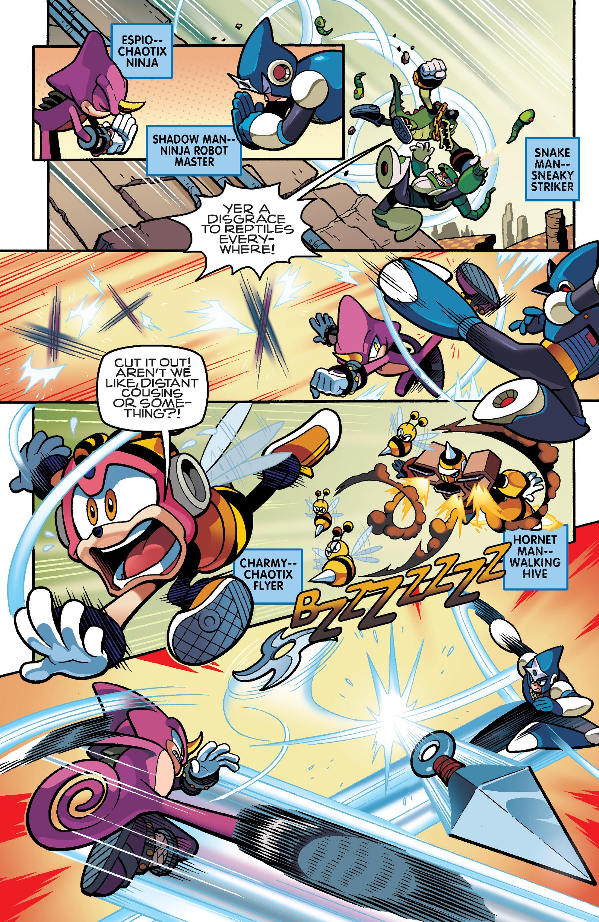 Read online Sonic Mega Man Worlds Collide comic -  Issue # Vol 3 - 20