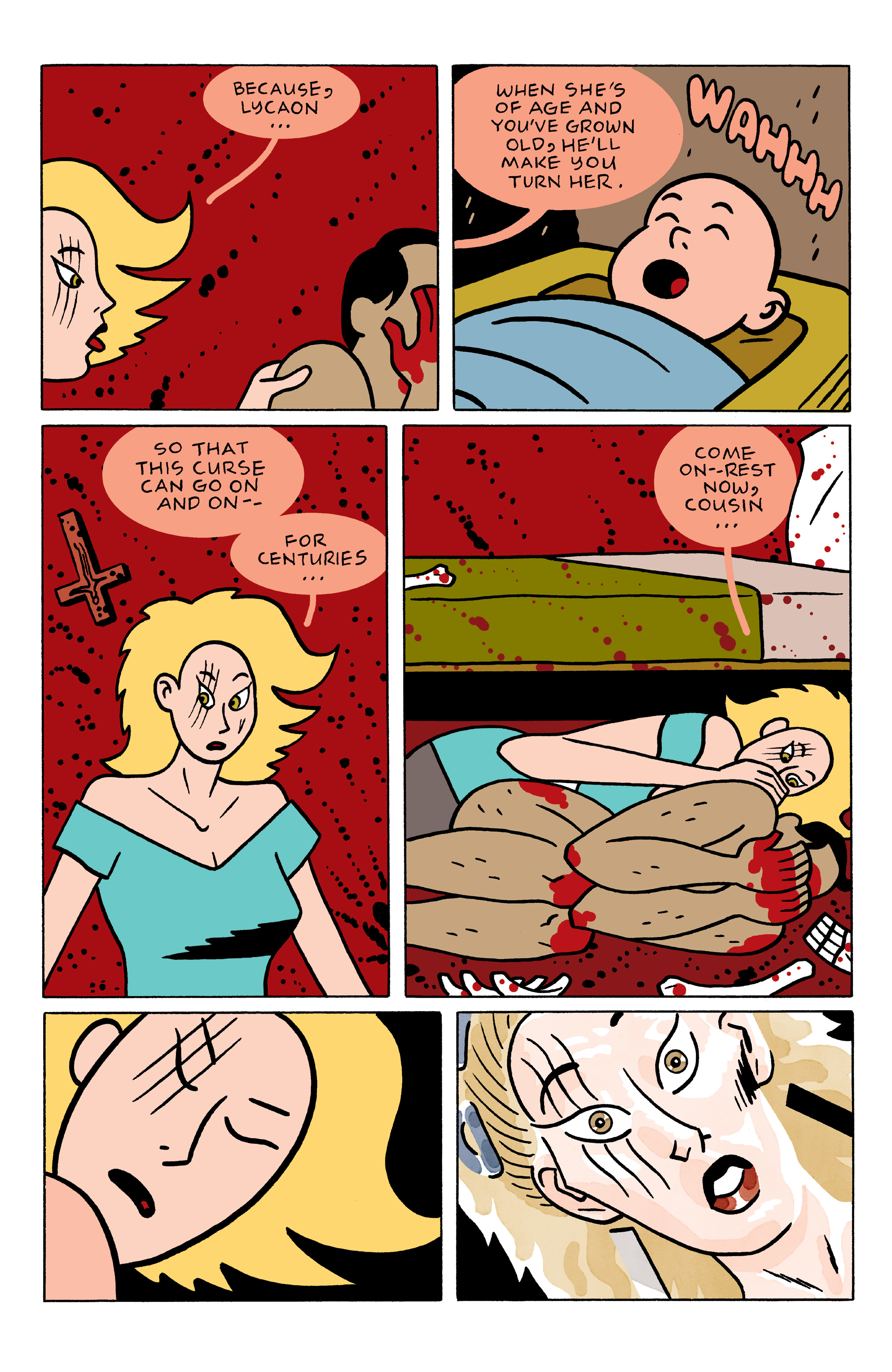 Read online She Wolf comic -  Issue #3 - 15