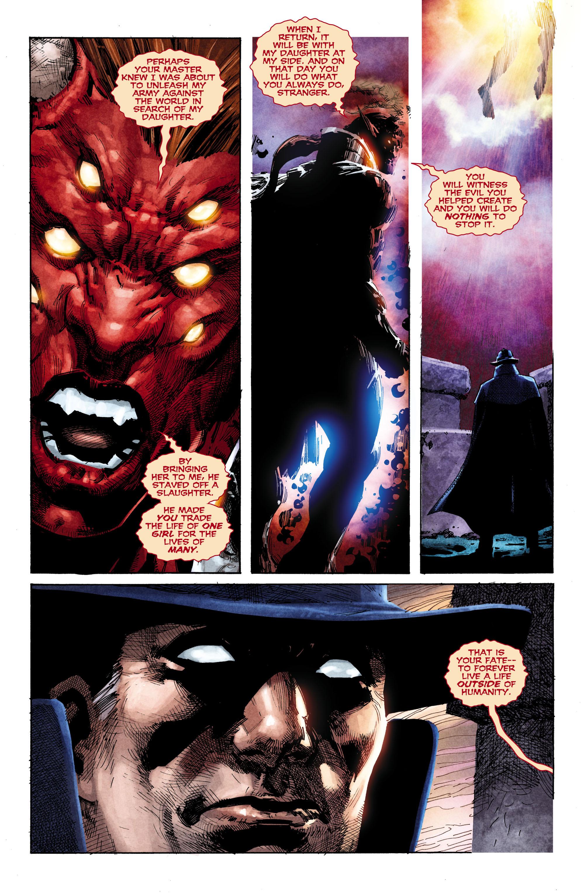 Read online Trinity of Sin: The Phantom Stranger comic -  Issue #1 - 18