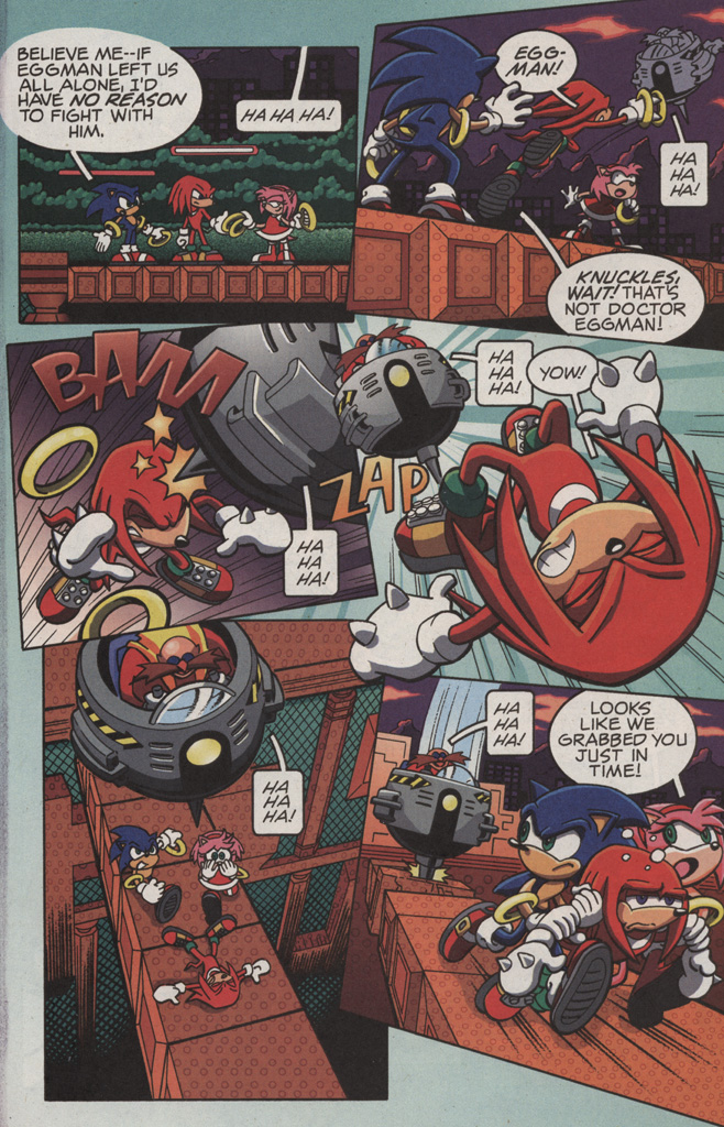 Read online Sonic X comic -  Issue #11 - 5