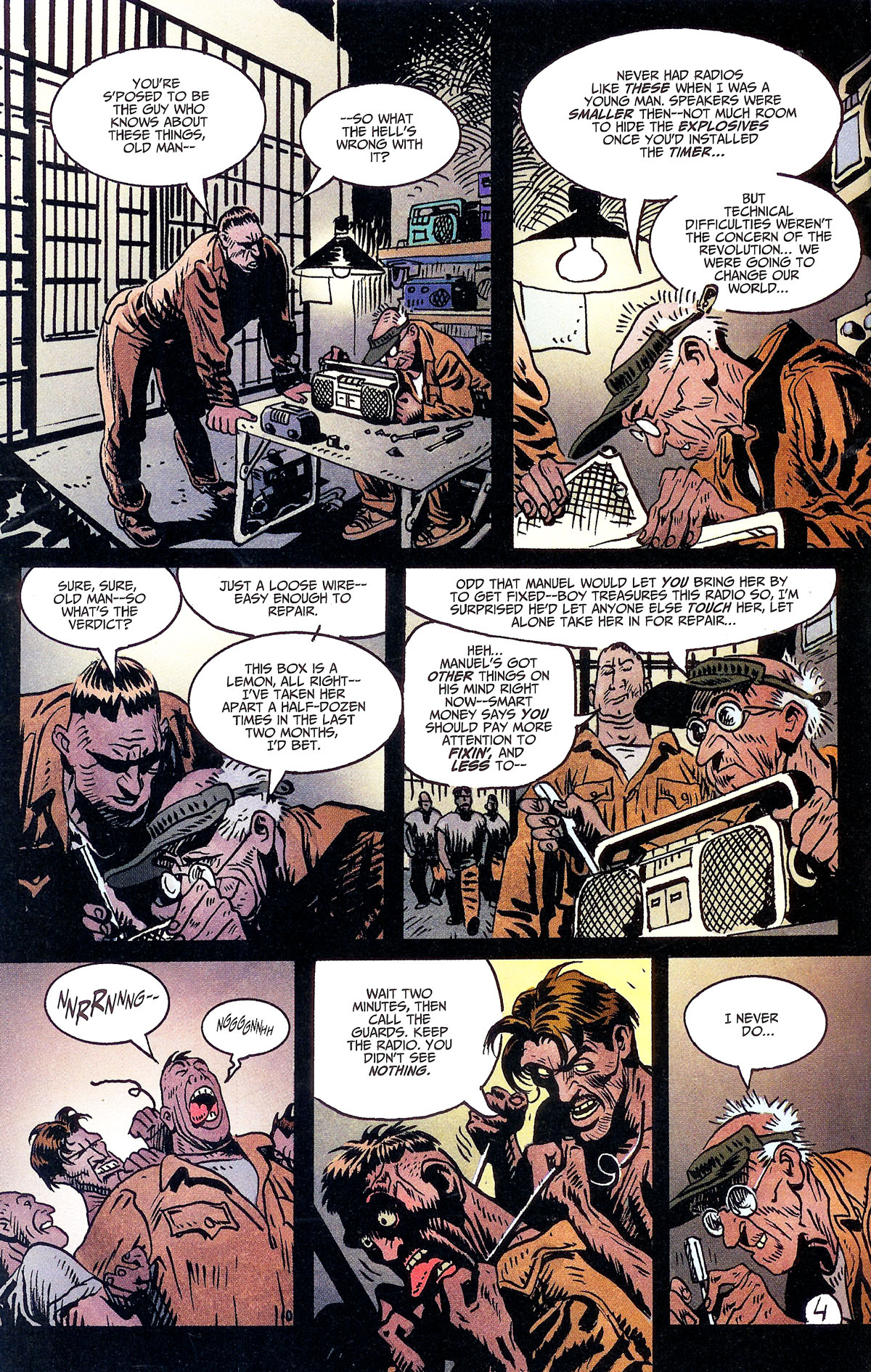 Read online Solo (2004) comic -  Issue #6 - 23