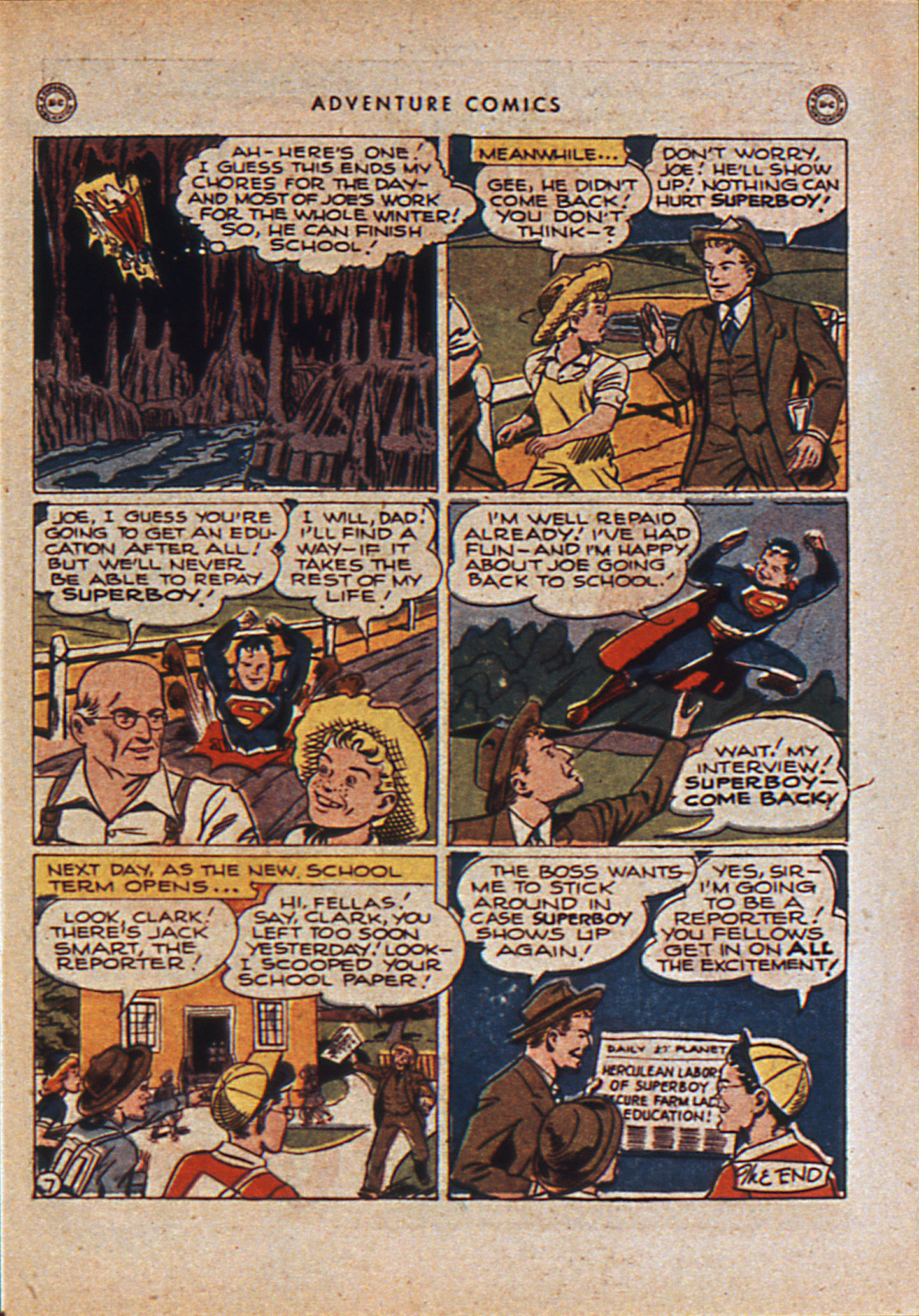 Read online Adventure Comics (1938) comic -  Issue #110 - 10