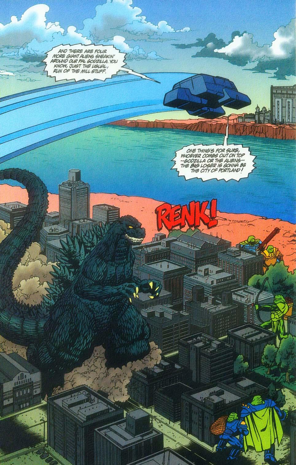 Godzilla (1995) Issue #7 #8 - English 5