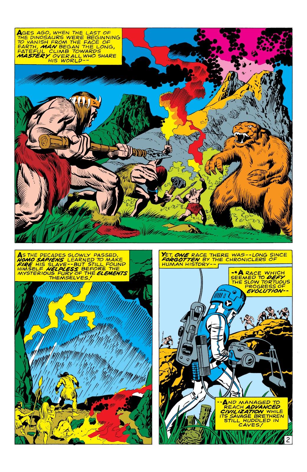 Read online Marvel Masterworks: The Inhumans comic -  Issue # TPB 1 (Part 1) - 9