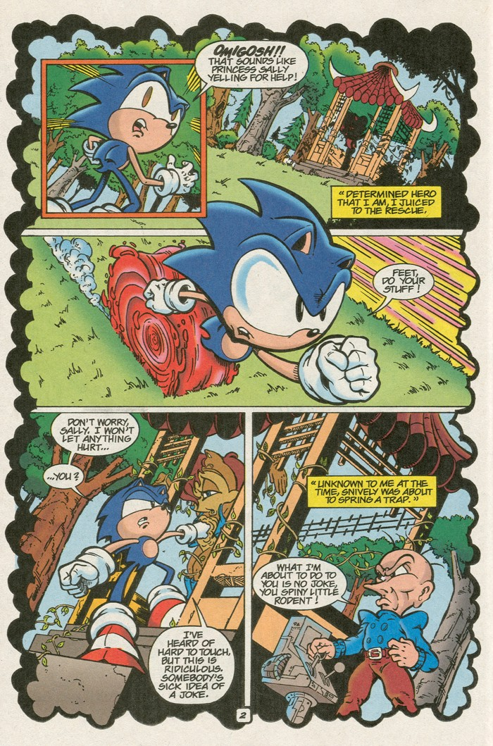 Read online Sonic Super Special comic -  Issue #8 - Giant special - 13