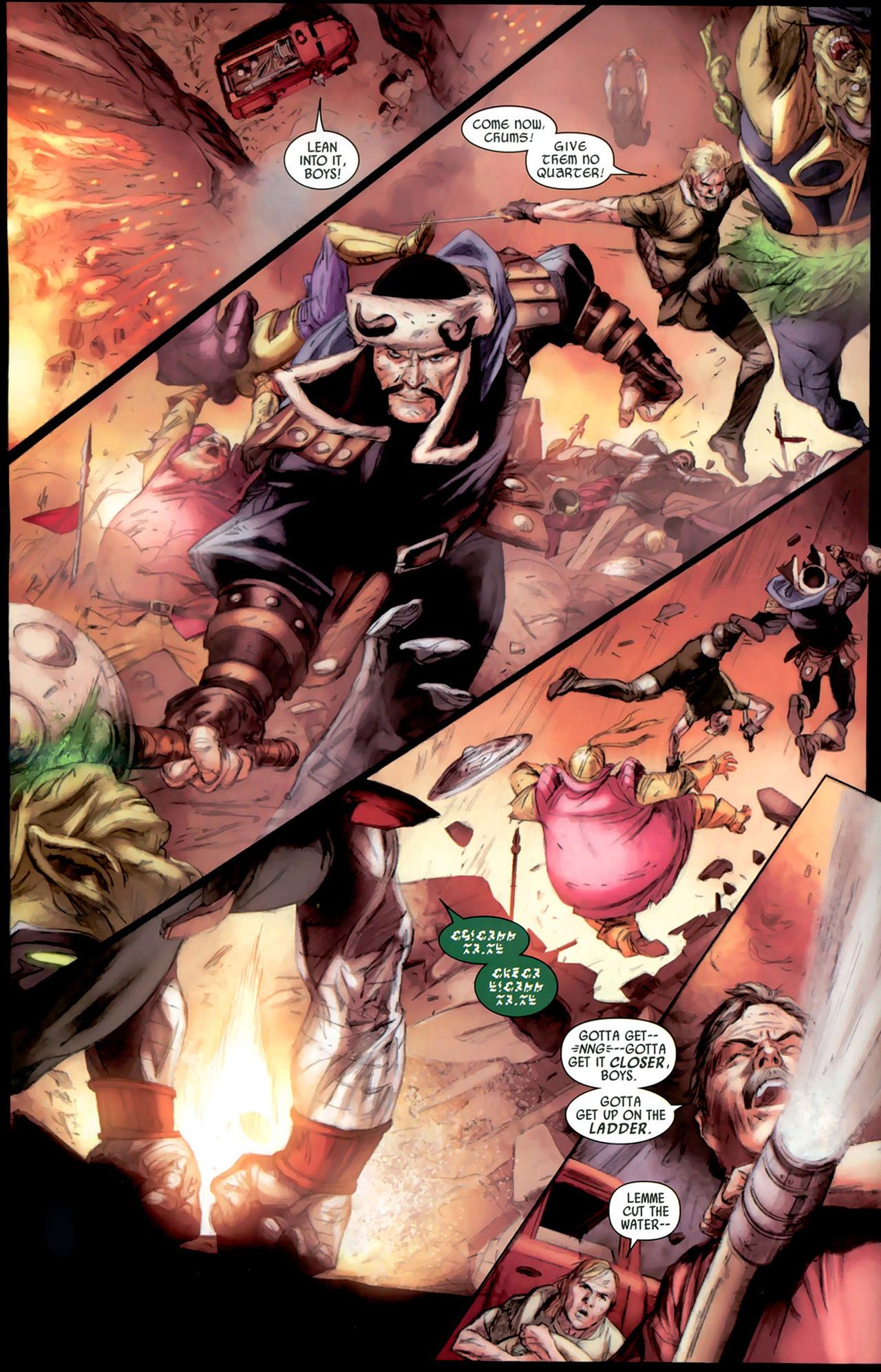 Read online Secret Invasion: Thor comic -  Issue #2 - 10