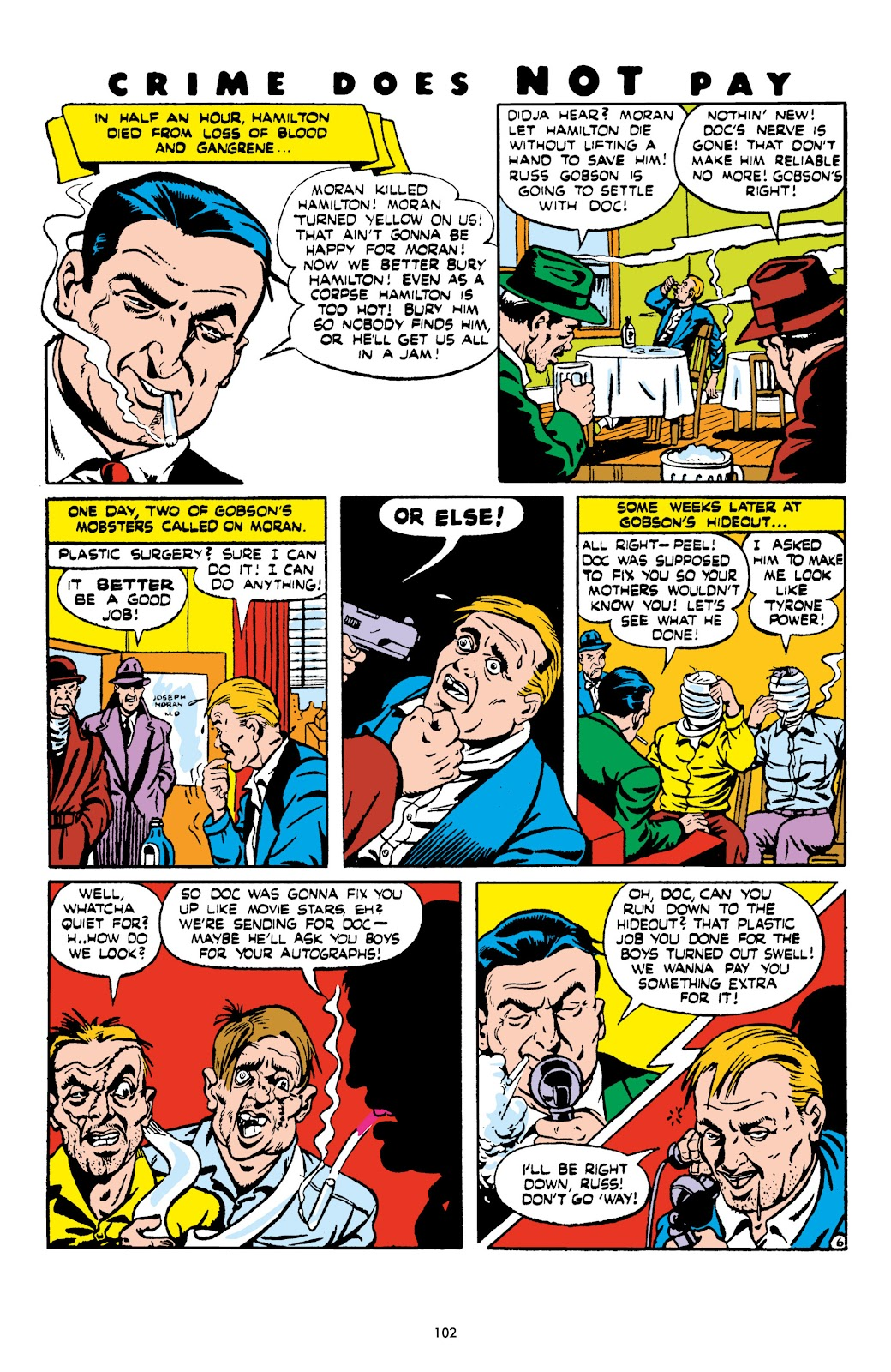 Read online Crime Does Not Pay Archives comic -  Issue # TPB 6 (Part 2) - 4