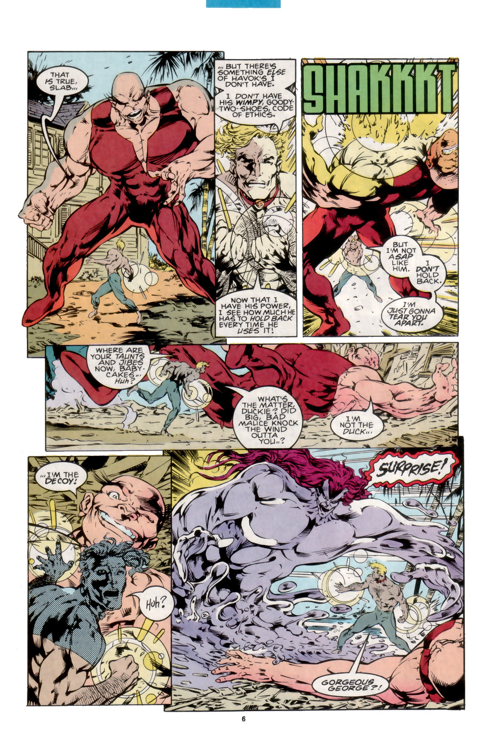 Read online X-Factor (1986) comic -  Issue #105 - 5