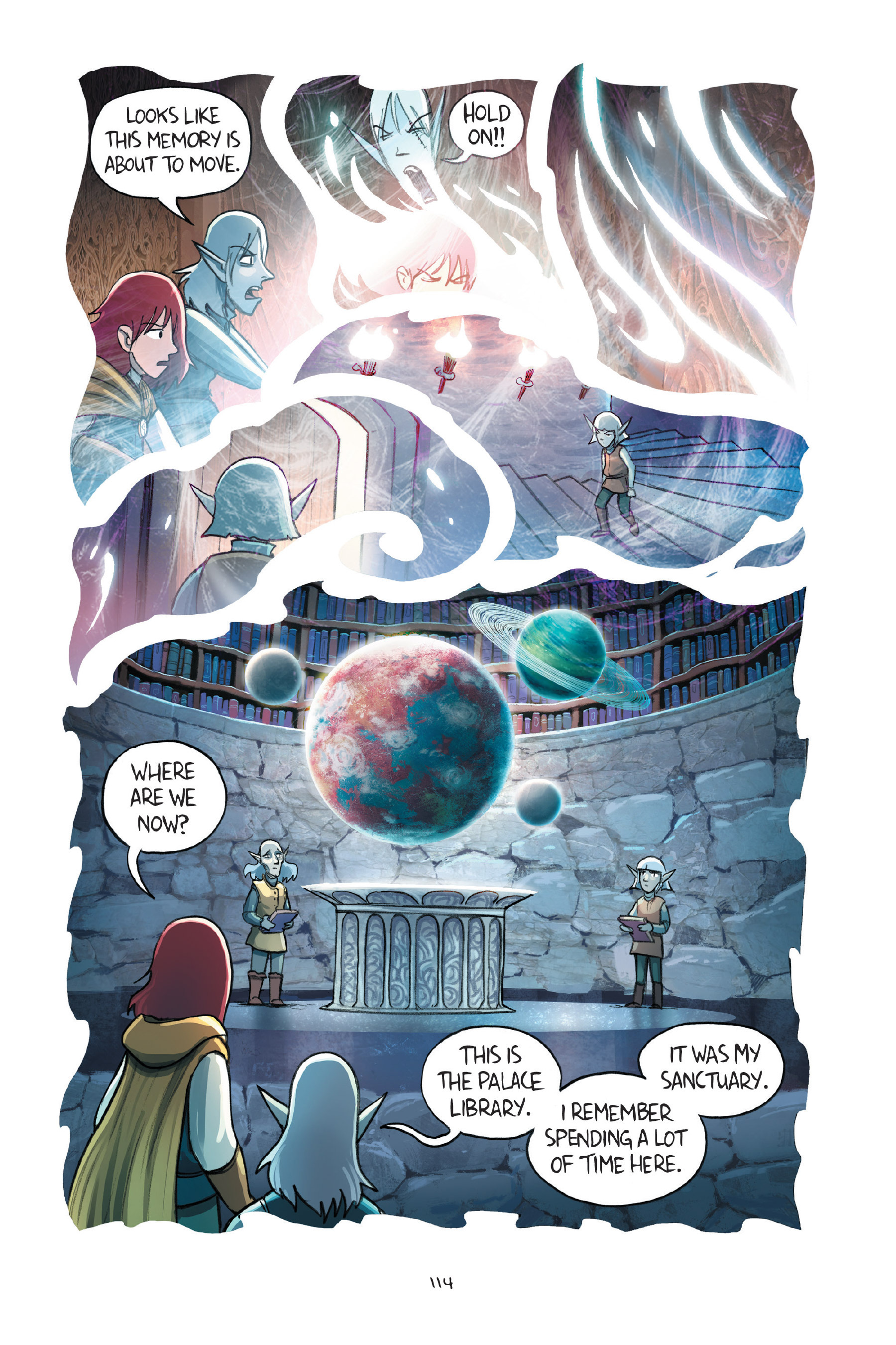 Read online Amulet comic -  Issue #7 - 114
