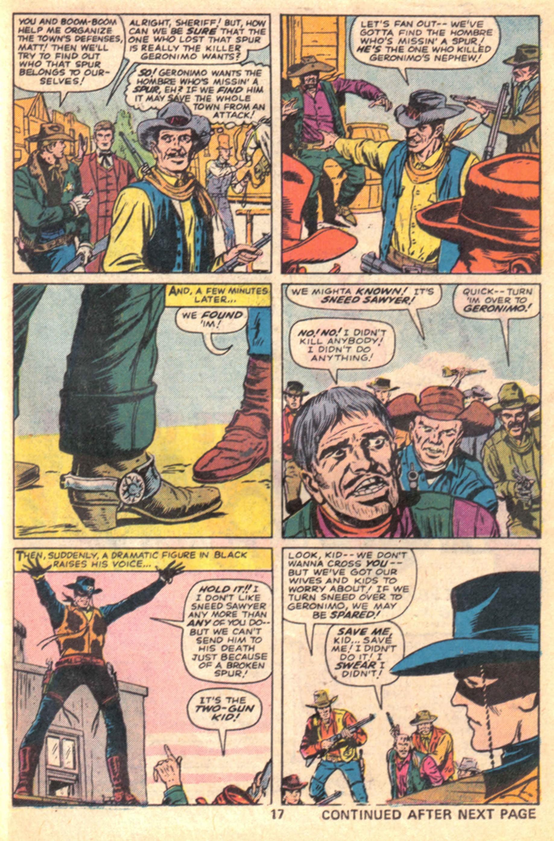 Read online Two-Gun Kid comic -  Issue #127 - 20