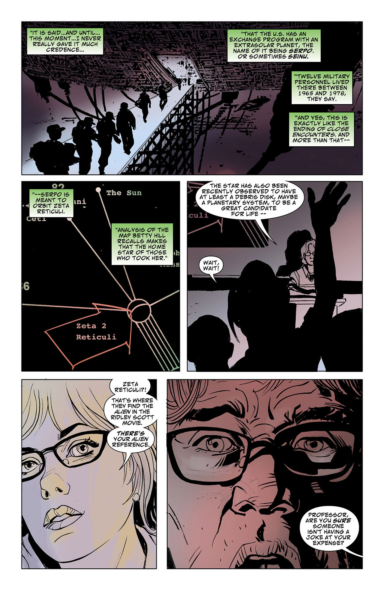 Read online Saucer Country comic -  Issue #6 - 17